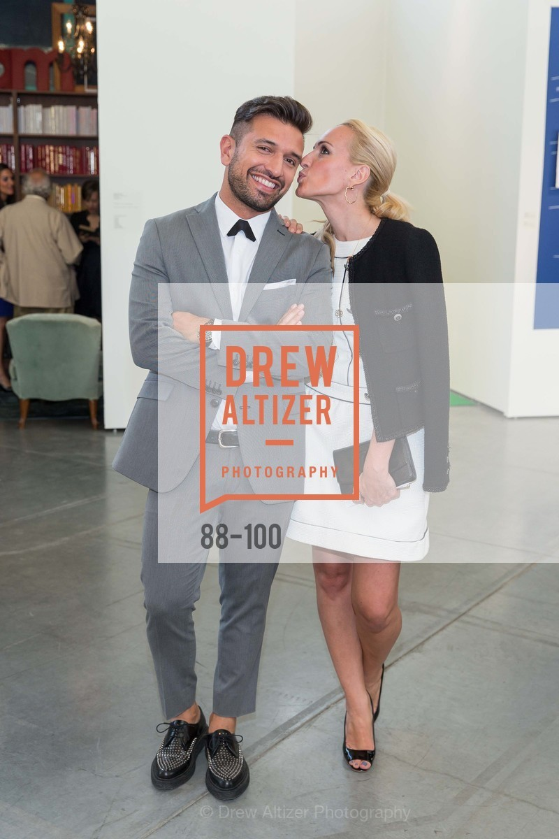 David Mohammadi, Mia Mandich, Gala Vernissage & Varnished The After Party Presented by SFAI, Fort Mason. Pier 2, May 14th, 2015,Drew Altizer, Drew Altizer Photography, full-service agency, private events, San Francisco photographer, photographer california