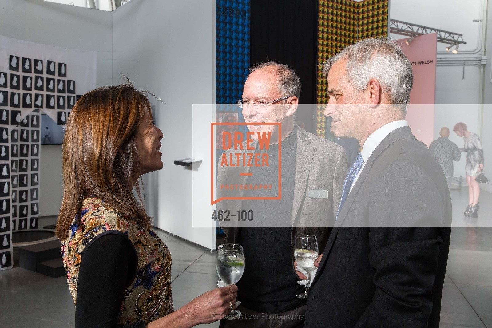 Susan Swig, Charles Desmarais, David Whitlock, Gala Vernissage & Varnished The After Party Presented by SFAI, Fort Mason. Pier 2, May 14th, 2015,Drew Altizer, Drew Altizer Photography, full-service agency, private events, San Francisco photographer, photographer california