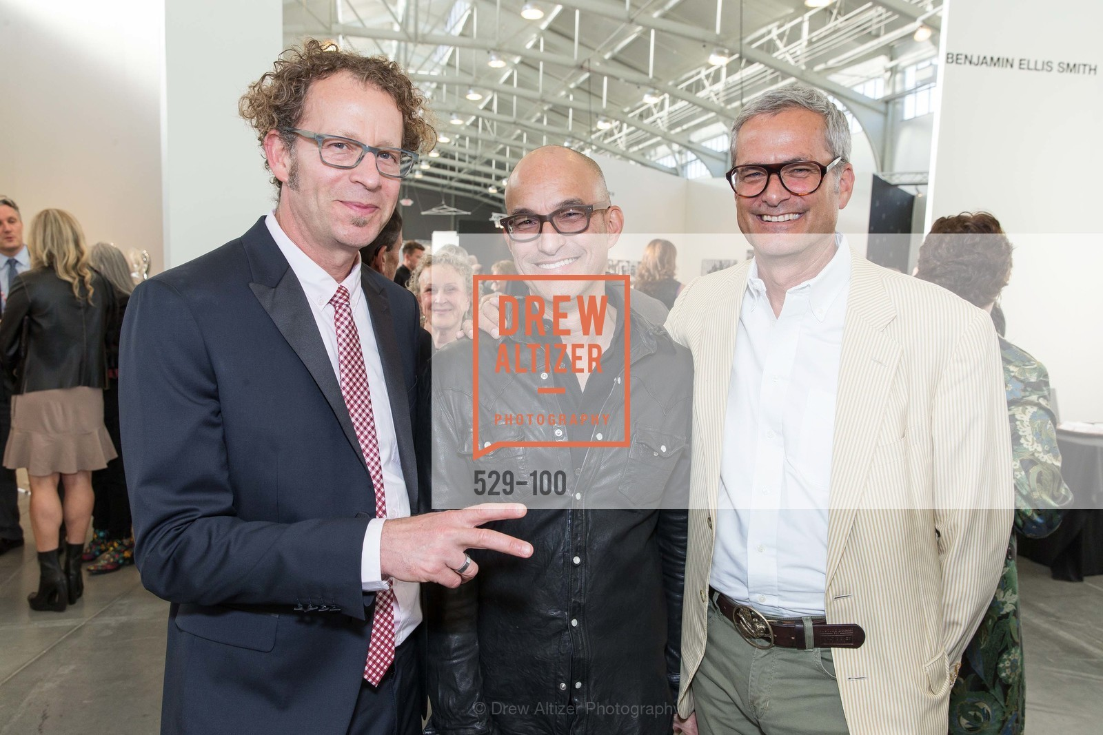 Ken Goldberg, Eric McDougall, Mark Ritchie, Gala Vernissage & Varnished The After Party Presented by SFAI, Fort Mason. Pier 2, May 14th, 2015,Drew Altizer, Drew Altizer Photography, full-service agency, private events, San Francisco photographer, photographer california