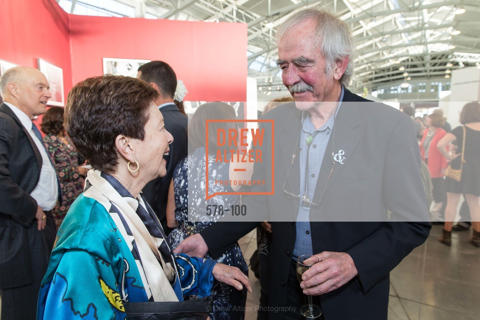 Cissie Swig, William Wiley, Gala Vernissage & Varnished The After Party Presented by SFAI, Fort Mason. Pier 2, May 14th, 2015,Drew Altizer, Drew Altizer Photography, full-service agency, private events, San Francisco photographer, photographer california