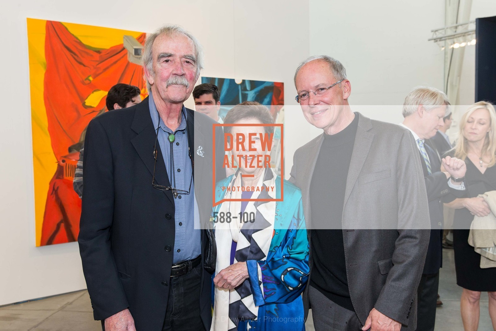 William Wiley, Cissie Swig, Charles Desmarais, Gala Vernissage & Varnished The After Party Presented by SFAI, Fort Mason. Pier 2, May 14th, 2015,Drew Altizer, Drew Altizer Photography, full-service agency, private events, San Francisco photographer, photographer california