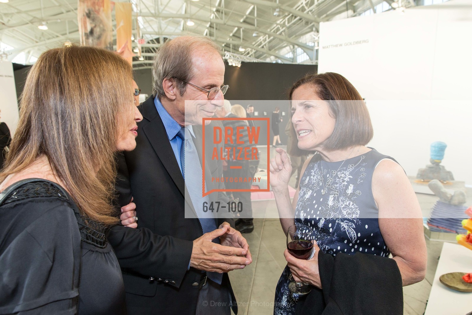 Michael Krasny, Marjorie Swig, Gala Vernissage & Varnished The After Party Presented by SFAI, Fort Mason. Pier 2, May 14th, 2015,Drew Altizer, Drew Altizer Photography, full-service agency, private events, San Francisco photographer, photographer california