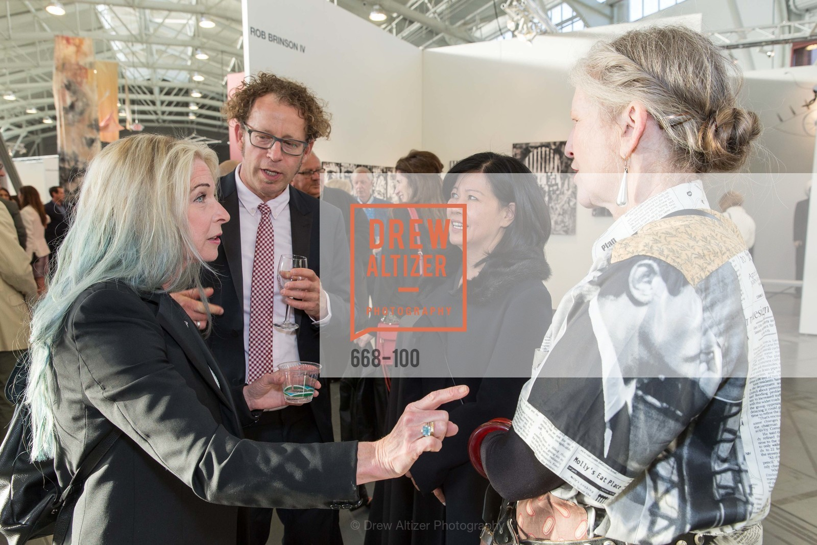 Ken Goldberg, Joy Ou, Cheryl Haines, Gala Vernissage & Varnished The After Party Presented by SFAI, Fort Mason. Pier 2, May 14th, 2015,Drew Altizer, Drew Altizer Photography, full-service agency, private events, San Francisco photographer, photographer california