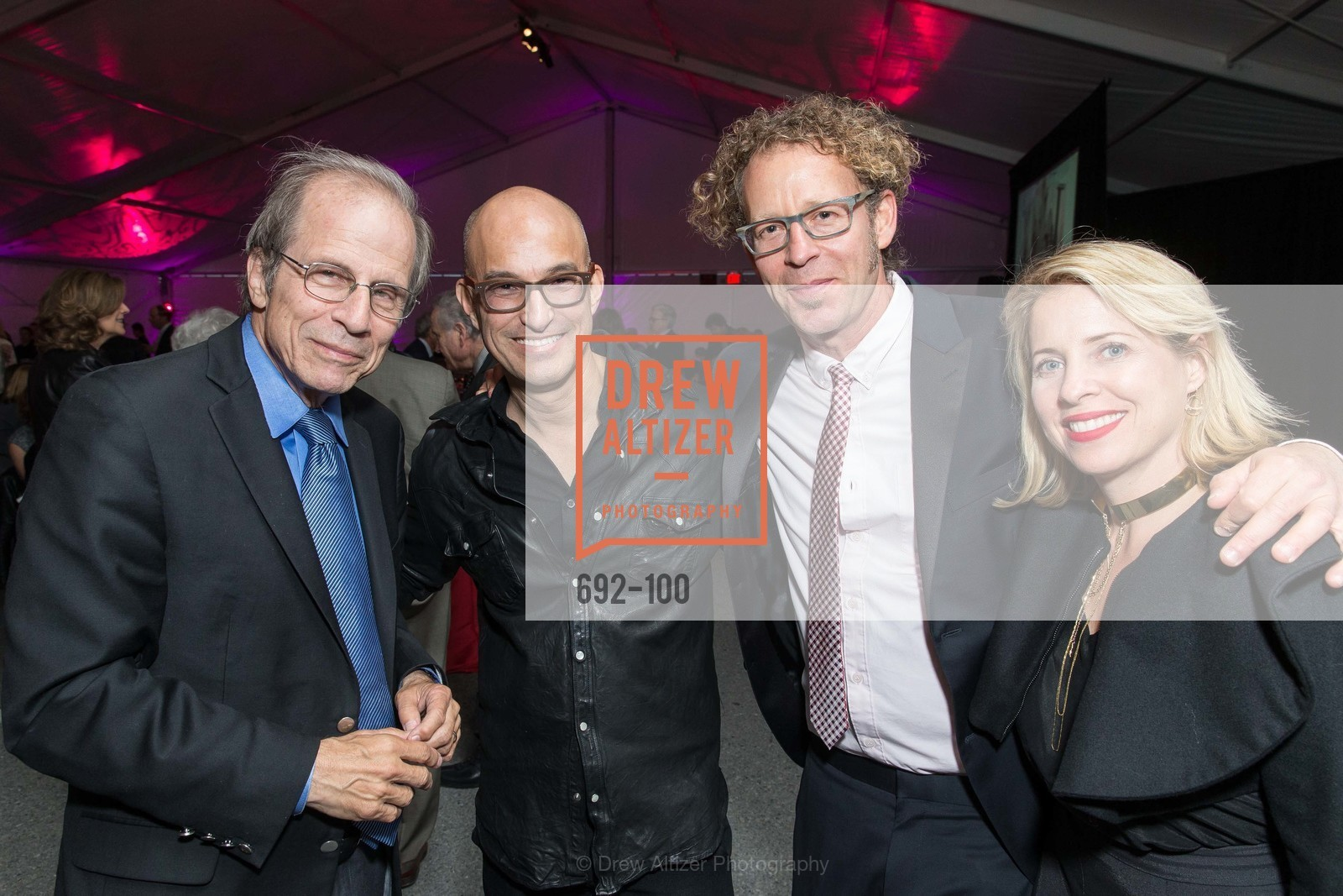 Michael Krasny, Ken Goldberg, Tiffany Shlain, Eric McDougall, Gala Vernissage & Varnished The After Party Presented by SFAI, Fort Mason. Pier 2, May 14th, 2015,Drew Altizer, Drew Altizer Photography, full-service agency, private events, San Francisco photographer, photographer california