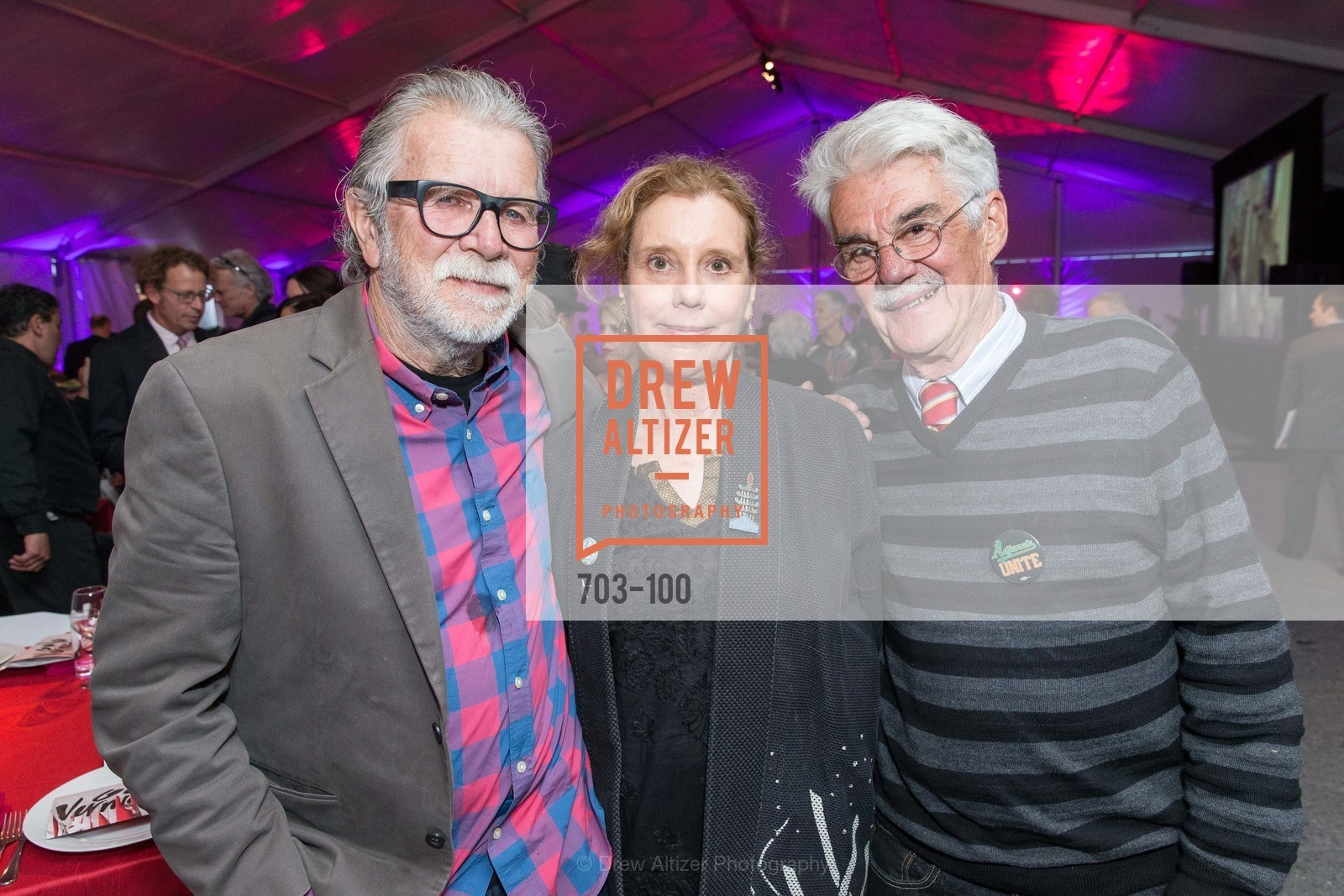 Robert Hudson, Mary Hull Webster, Richard Shaw, Gala Vernissage & Varnished The After Party Presented by SFAI, Fort Mason. Pier 2, May 14th, 2015,Drew Altizer, Drew Altizer Photography, full-service agency, private events, San Francisco photographer, photographer california