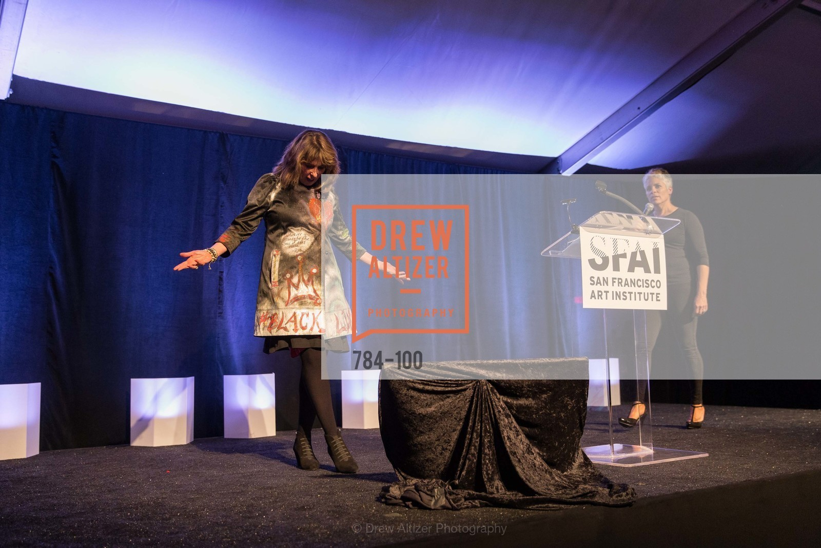 Bonnie Levinson, Dana King, Gala Vernissage & Varnished The After Party Presented by SFAI, Fort Mason. Pier 2, May 14th, 2015,Drew Altizer, Drew Altizer Photography, full-service agency, private events, San Francisco photographer, photographer california