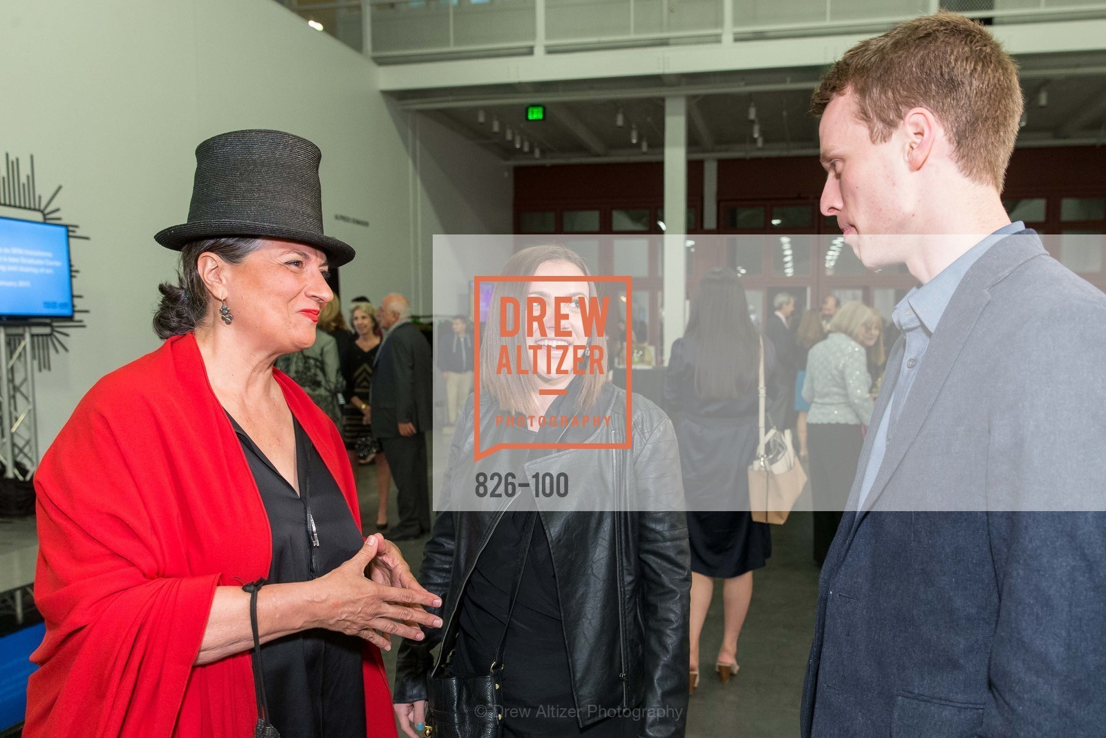 Marta Salas-Porras, Gala Vernissage & Varnished The After Party Presented by SFAI, Fort Mason. Pier 2, May 14th, 2015