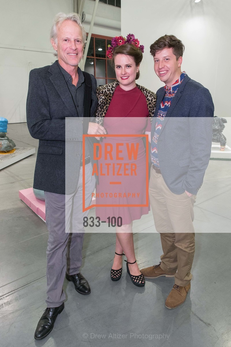 John Hood, Kelsey Shell, Zach Goldstein, Gala Vernissage & Varnished The After Party Presented by SFAI, Fort Mason. Pier 2, May 14th, 2015