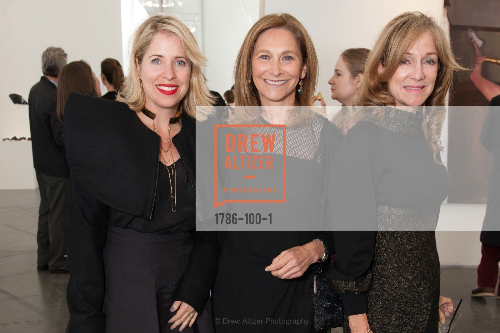 Tiffany Shlain, Sari Swig, Jill Manton, Gala Vernissage & Varnished The After Party Presented by SFAI, Fort Mason. Pier 2, May 14th, 2015