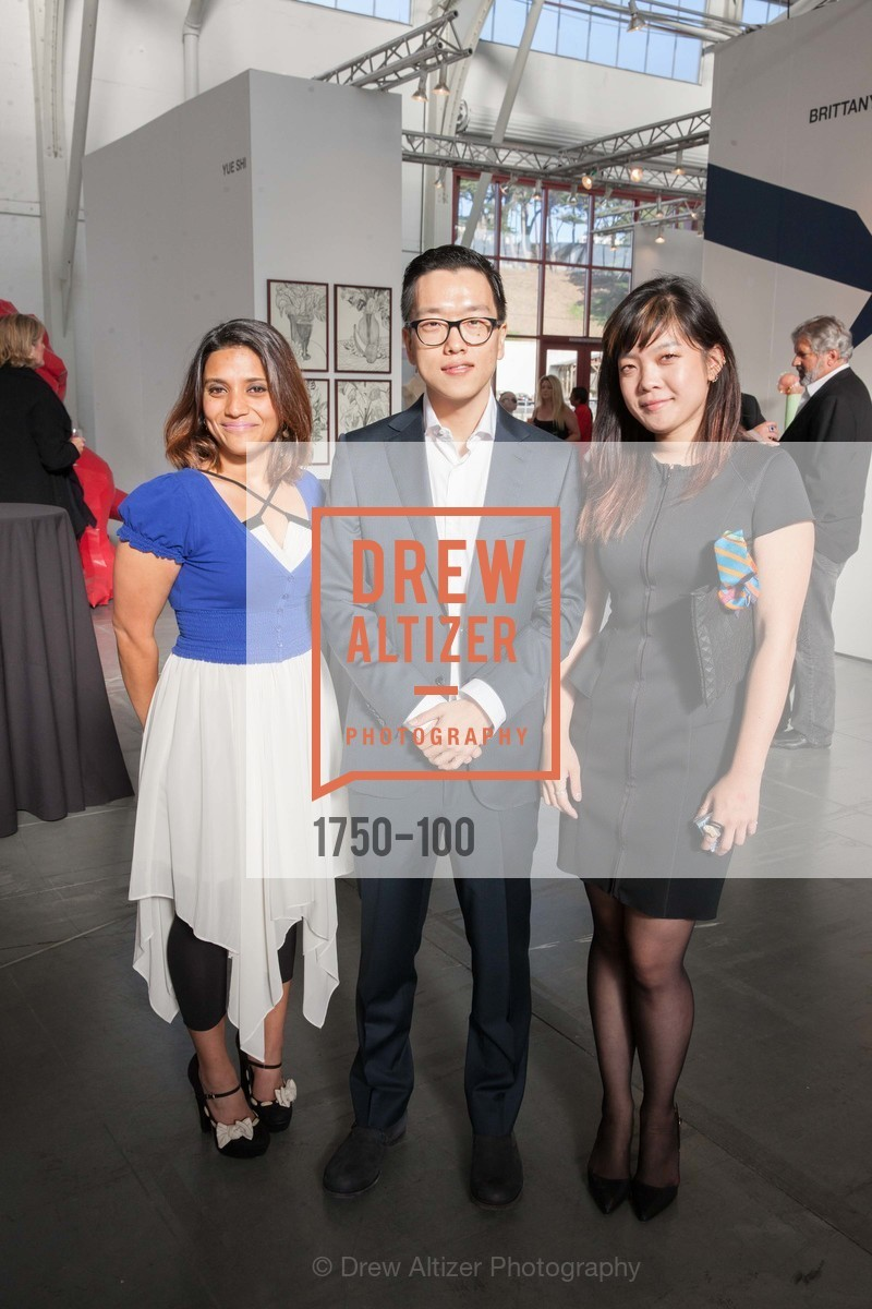 Silva Ahmad, Rusty Chung, Grace Kim, Gala Vernissage & Varnished The After Party Presented by SFAI, Fort Mason. Pier 2, May 14th, 2015,Drew Altizer, Drew Altizer Photography, full-service agency, private events, San Francisco photographer, photographer california