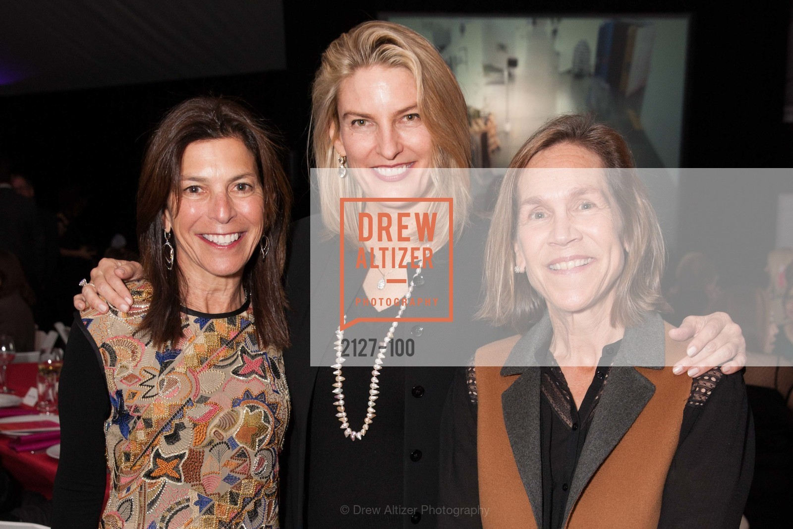 Susan Swig, Mindy Henderson, Robin Wright, Gala Vernissage & Varnished The After Party Presented by SFAI, Fort Mason. Pier 2, May 14th, 2015,Drew Altizer, Drew Altizer Photography, full-service agency, private events, San Francisco photographer, photographer california