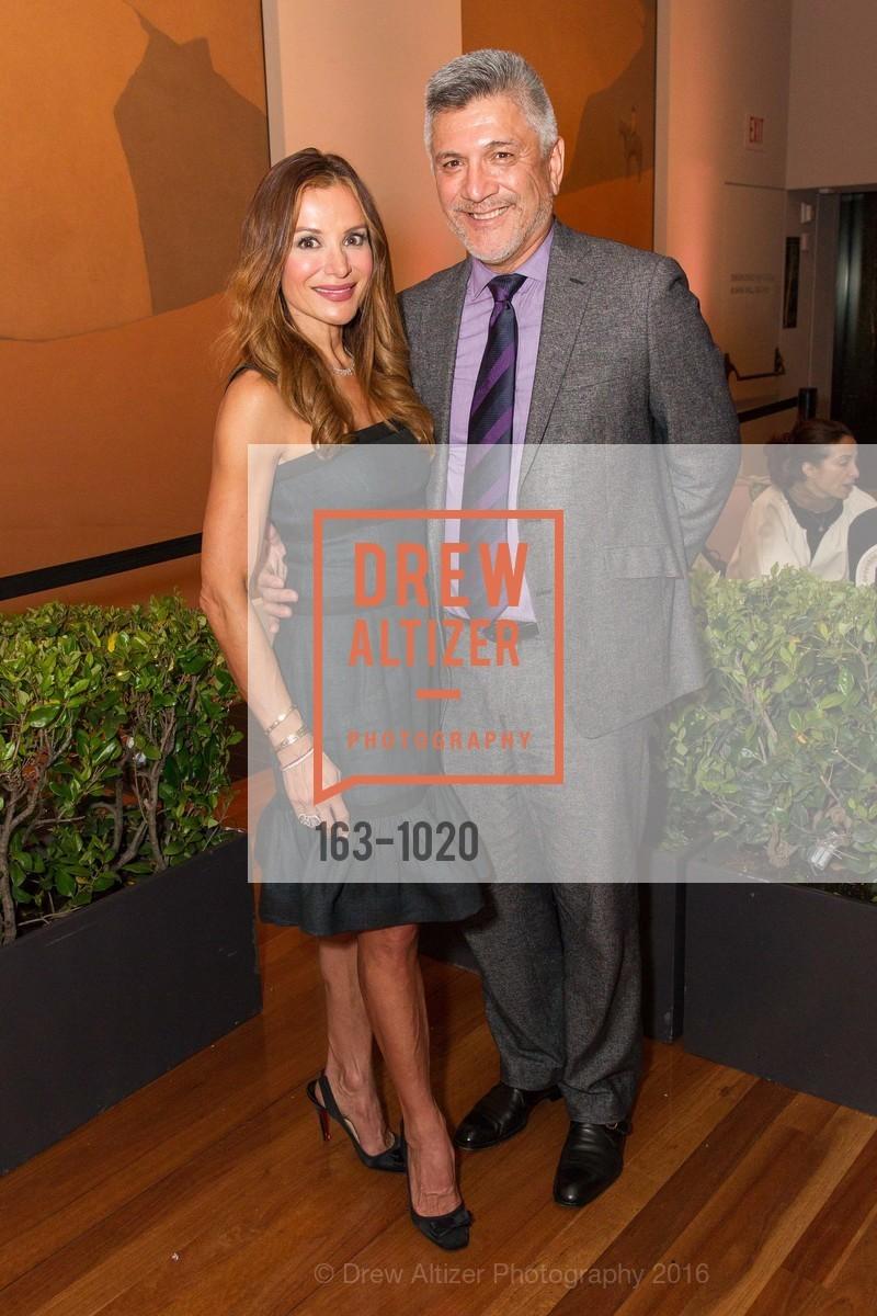 Claudia Ross With Mario Diaz