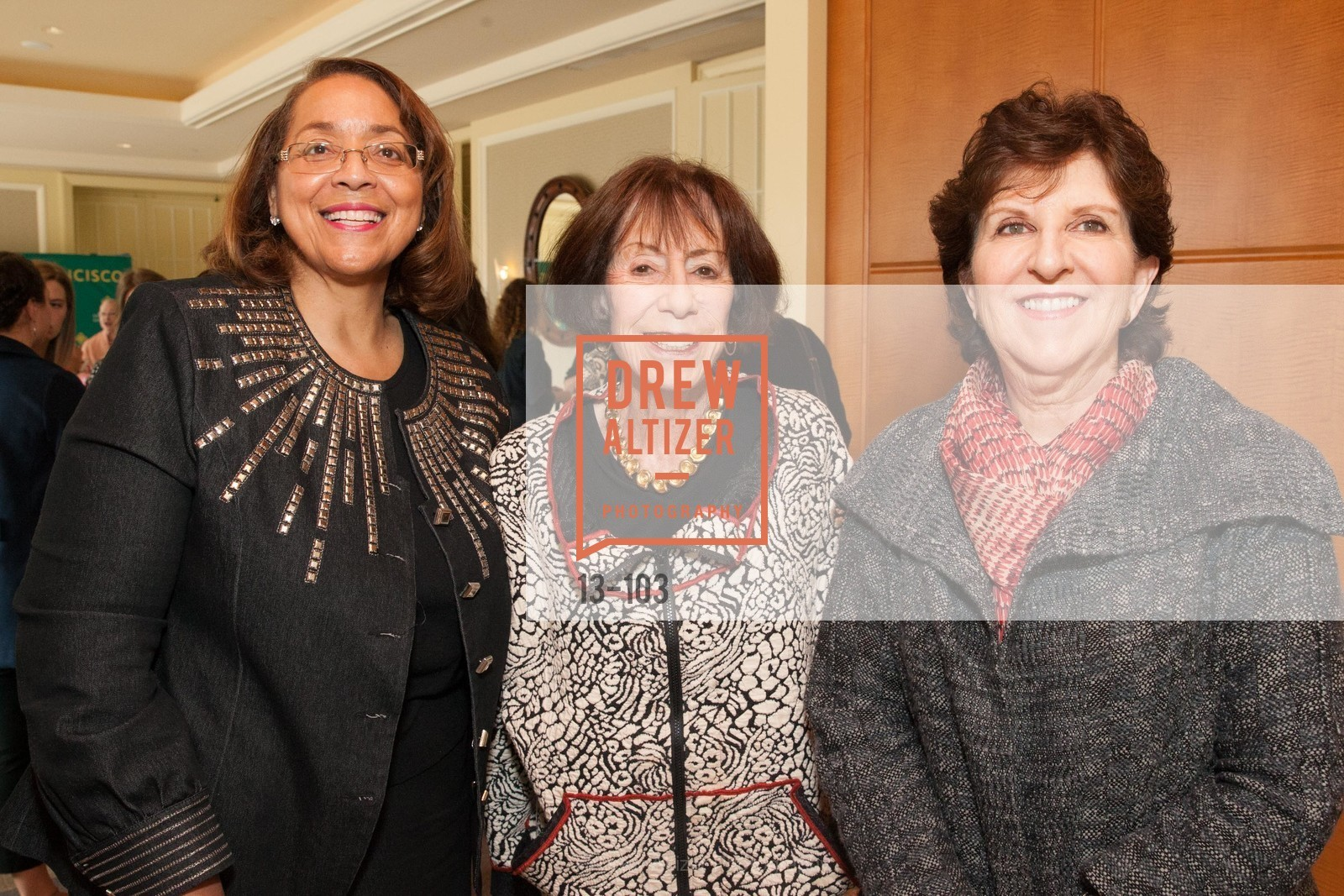 Patricia Mitchell, Raquel Newman, Anita Friedman, USF's Women in Leadership & Philanthropy Luncheon, Four Seasons. 757 Market St, San Francisco, CA‎, May 14th, 2015,Drew Altizer, Drew Altizer Photography, full-service agency, private events, San Francisco photographer, photographer california