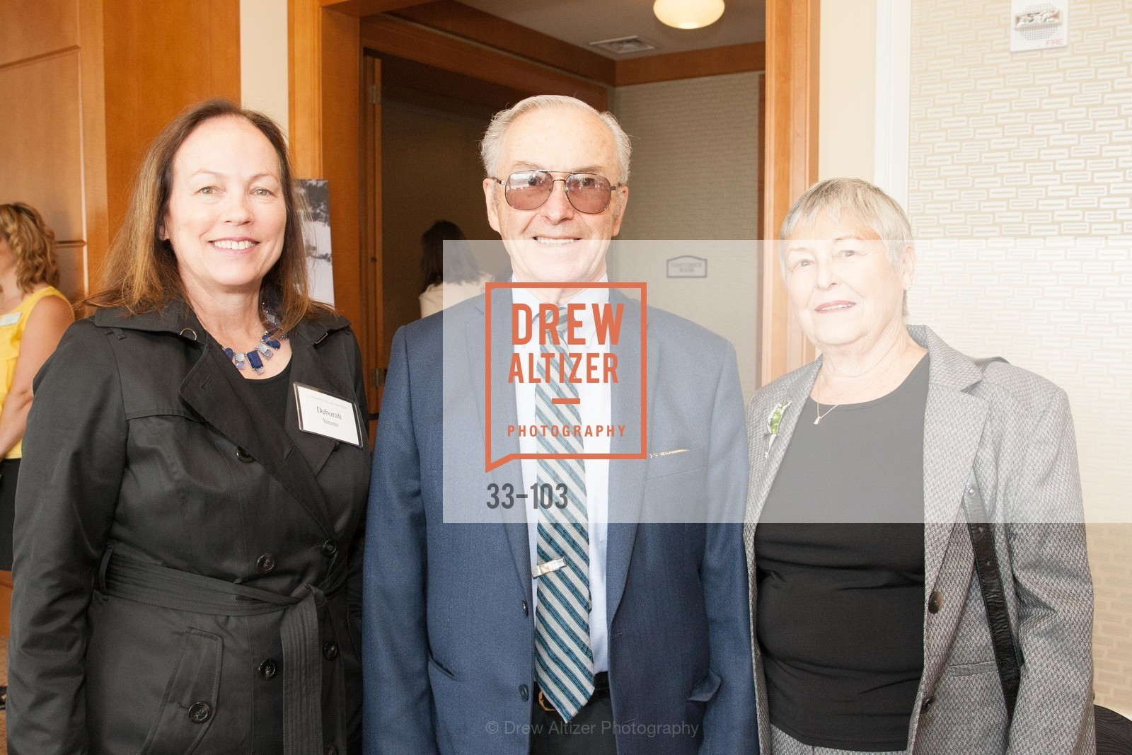 Deborah Simms, Philip Morrissey, Clara Morrissey, USF's Women in Leadership & Philanthropy Luncheon, Four Seasons. 757 Market St, San Francisco, CA, May 14th, 2015,Drew Altizer, Drew Altizer Photography, full-service event agency, private events, San Francisco photographer, photographer California