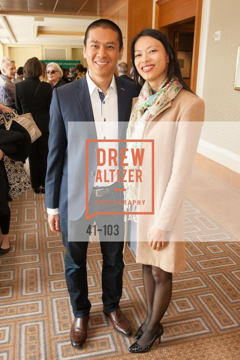 Andy Chou, Cheng-Ling Chen, USF's Women in Leadership & Philanthropy Luncheon, Four Seasons. 757 Market St, San Francisco, CA, May 14th, 2015,Drew Altizer, Drew Altizer Photography, full-service agency, private events, San Francisco photographer, photographer california