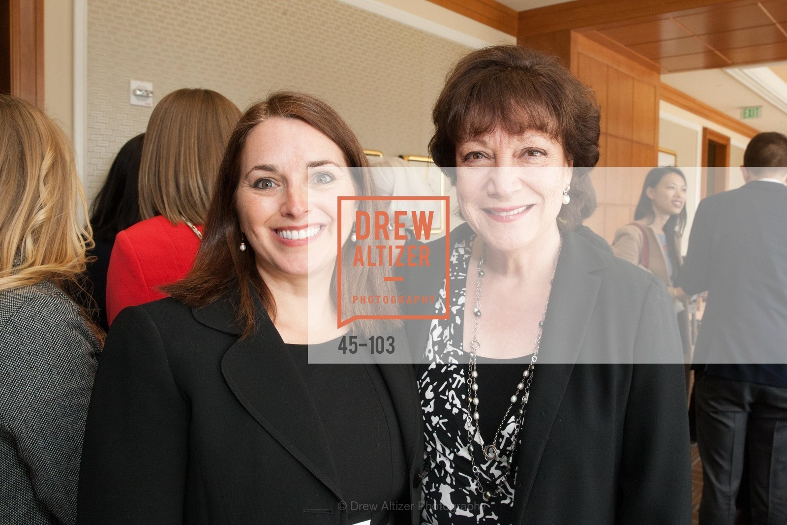 Leslie Theodore, Rose Guilbaust, USF's Women in Leadership & Philanthropy Luncheon, Four Seasons. 757 Market St, San Francisco, CA, May 14th, 2015,Drew Altizer, Drew Altizer Photography, full-service agency, private events, San Francisco photographer, photographer california