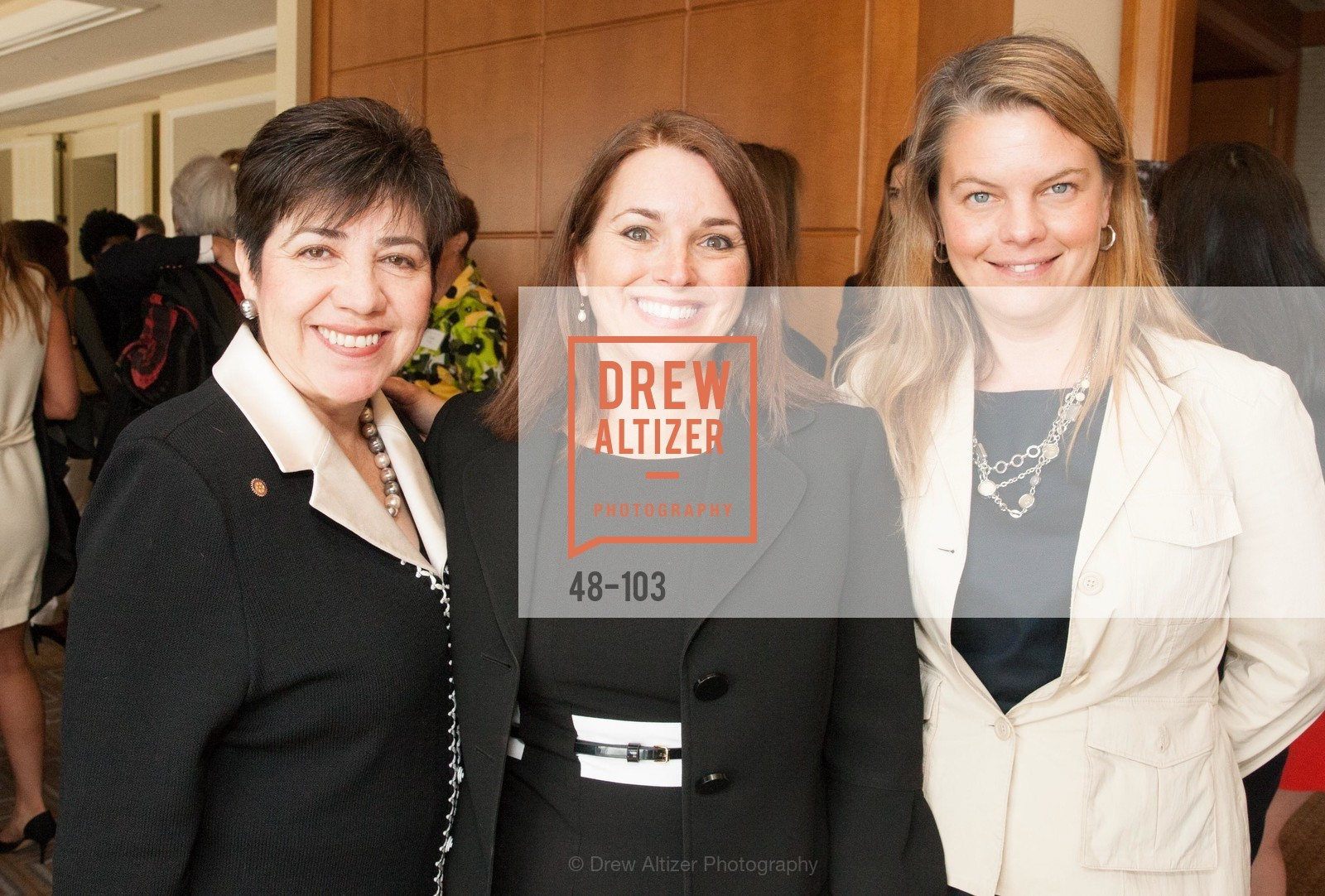 Sandra Jewett, Leslie Theodore, Jessica Jordan, USF's Women in Leadership & Philanthropy Luncheon, Four Seasons. 757 Market St, San Francisco, CA‎, May 14th, 2015,Drew Altizer, Drew Altizer Photography, full-service agency, private events, San Francisco photographer, photographer california