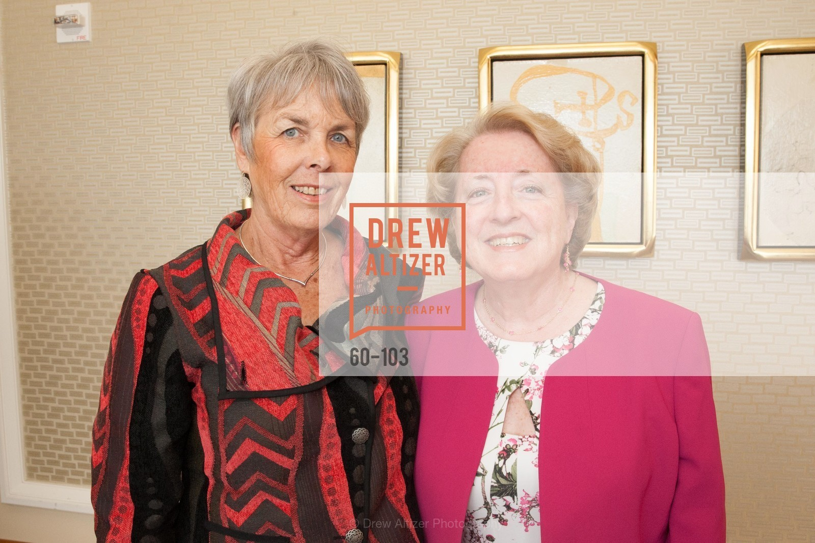 Victoria Moran Bozza, Maureen O'Hara, USF's Women in Leadership & Philanthropy Luncheon, Four Seasons. 757 Market St, San Francisco, CA‎, May 14th, 2015,Drew Altizer, Drew Altizer Photography, full-service event agency, private events, San Francisco photographer, photographer California