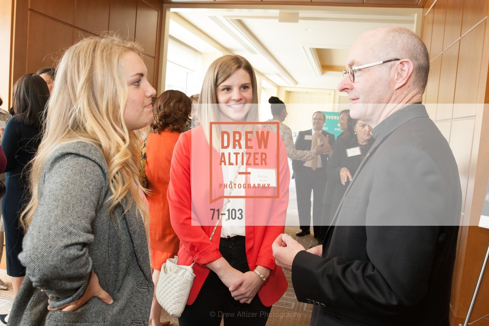 Rachel Ketola, Father Paul Fitzgerald, USF's Women in Leadership & Philanthropy Luncheon, Four Seasons. 757 Market St, San Francisco, CA‎, May 14th, 2015,Drew Altizer, Drew Altizer Photography, full-service agency, private events, San Francisco photographer, photographer california