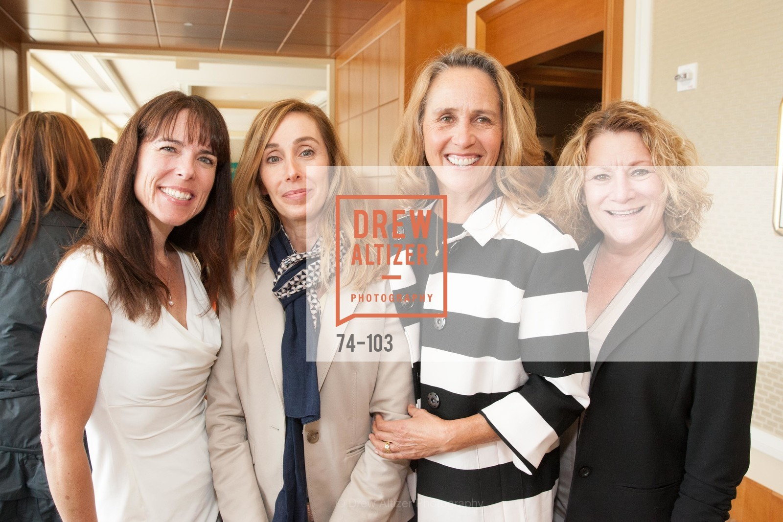Stephanie Skaff, Annie Hurwitz, Michelle Skaff, Terrie Cosgrove, USF's Women in Leadership & Philanthropy Luncheon, Four Seasons. 757 Market St, San Francisco, CA, May 14th, 2015,Drew Altizer, Drew Altizer Photography, full-service agency, private events, San Francisco photographer, photographer california
