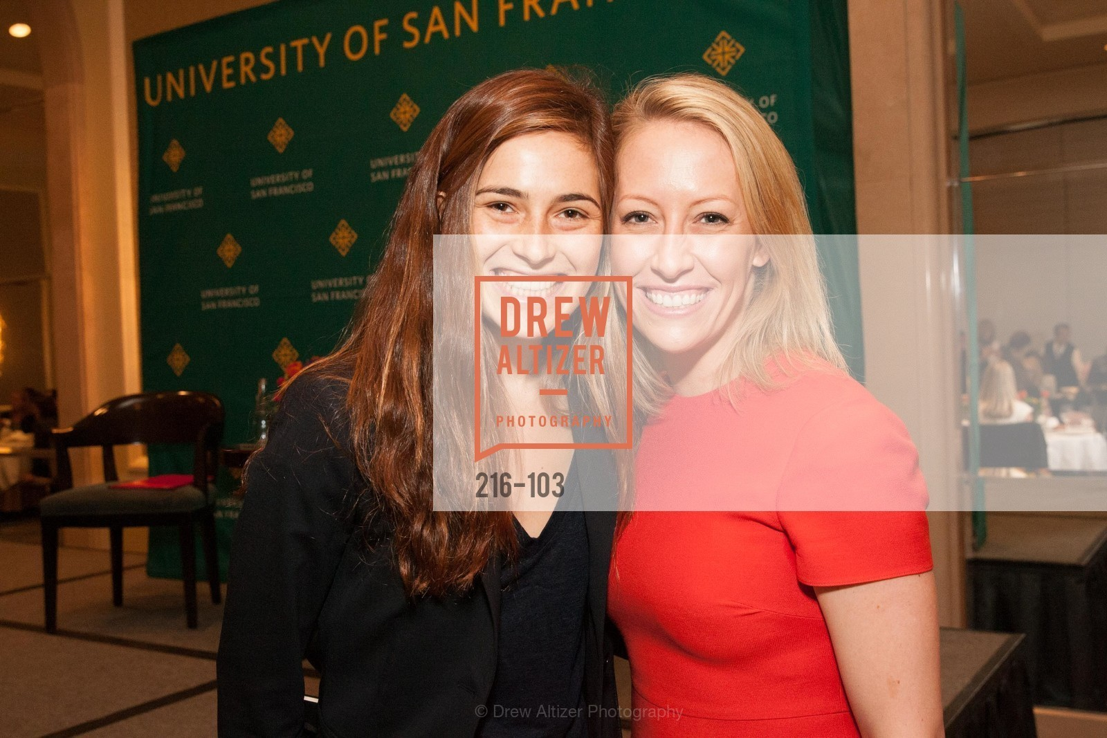 Allegra Goodwin, Julia Hartz, USF's Women in Leadership & Philanthropy Luncheon, Four Seasons. 757 Market St, San Francisco, CA‎, May 14th, 2015,Drew Altizer, Drew Altizer Photography, full-service agency, private events, San Francisco photographer, photographer california