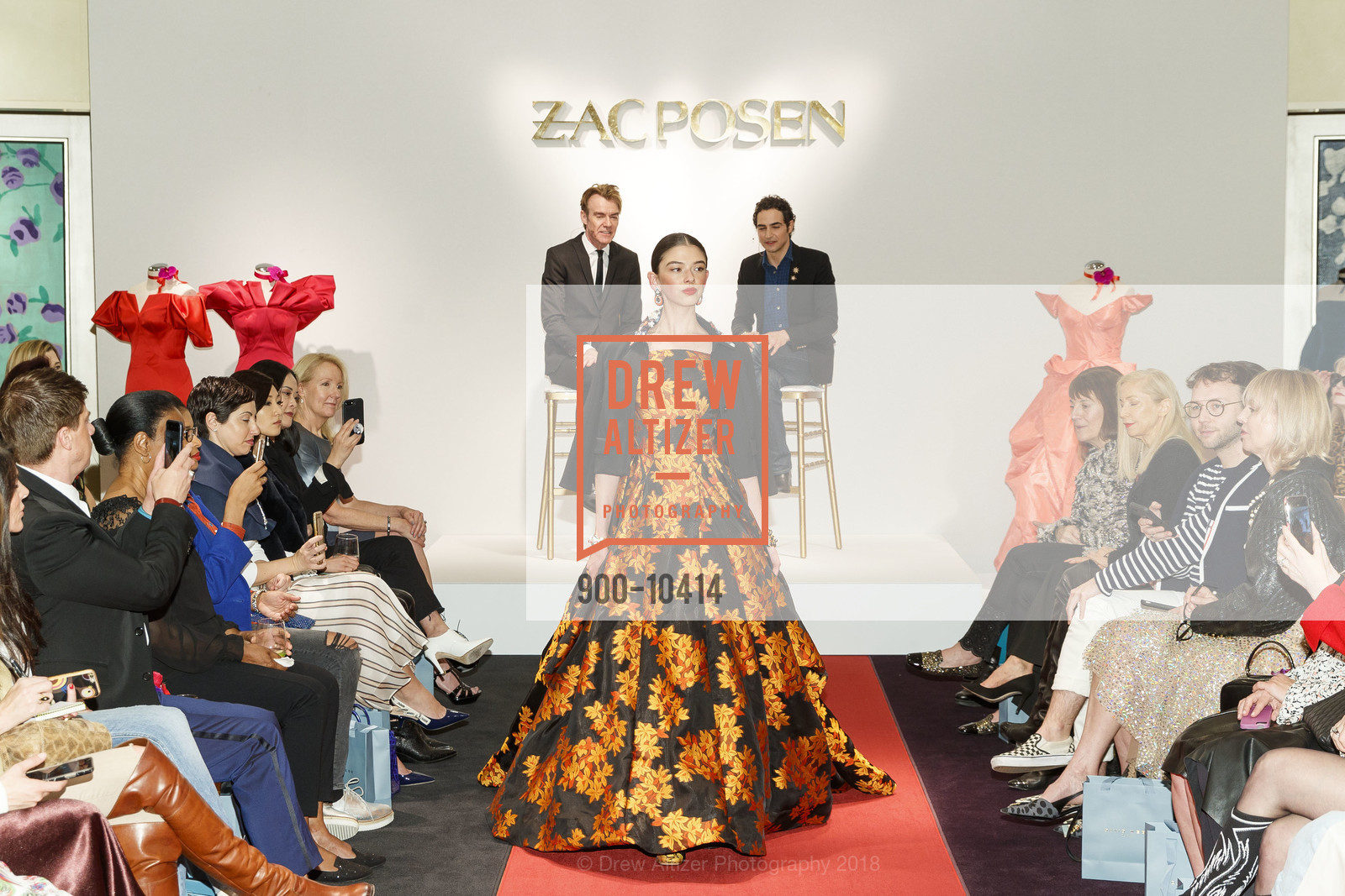 Fashion Show, Neiman Marcus Hosts Zac Posen and Ken Downing Personal Appearance and Fashion Show, Neiman Marcus, 3rd Floor. 150 Stockton Street, April 12th, 2018