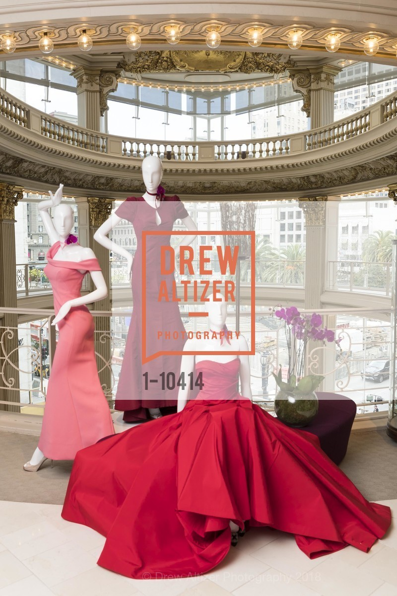 Atmosphere, Neiman Marcus Hosts Zac Posen and Ken Downing Personal Appearance and Fashion Show, Neiman Marcus, 3rd Floor. 150 Stockton Street, April 12th, 2018
