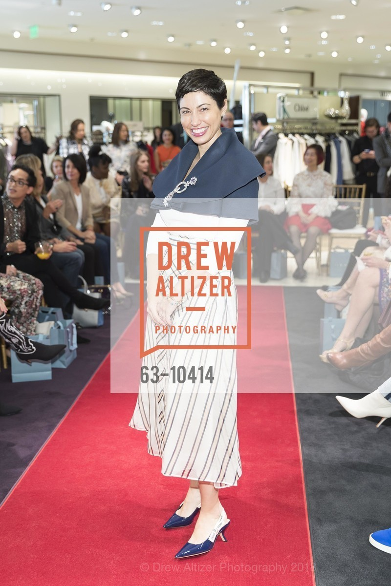 Chrisa Pappas, Neiman Marcus Hosts Zac Posen and Ken Downing Personal Appearance and Fashion Show, Neiman Marcus, 3rd Floor. 150 Stockton Street, April 12th, 2018