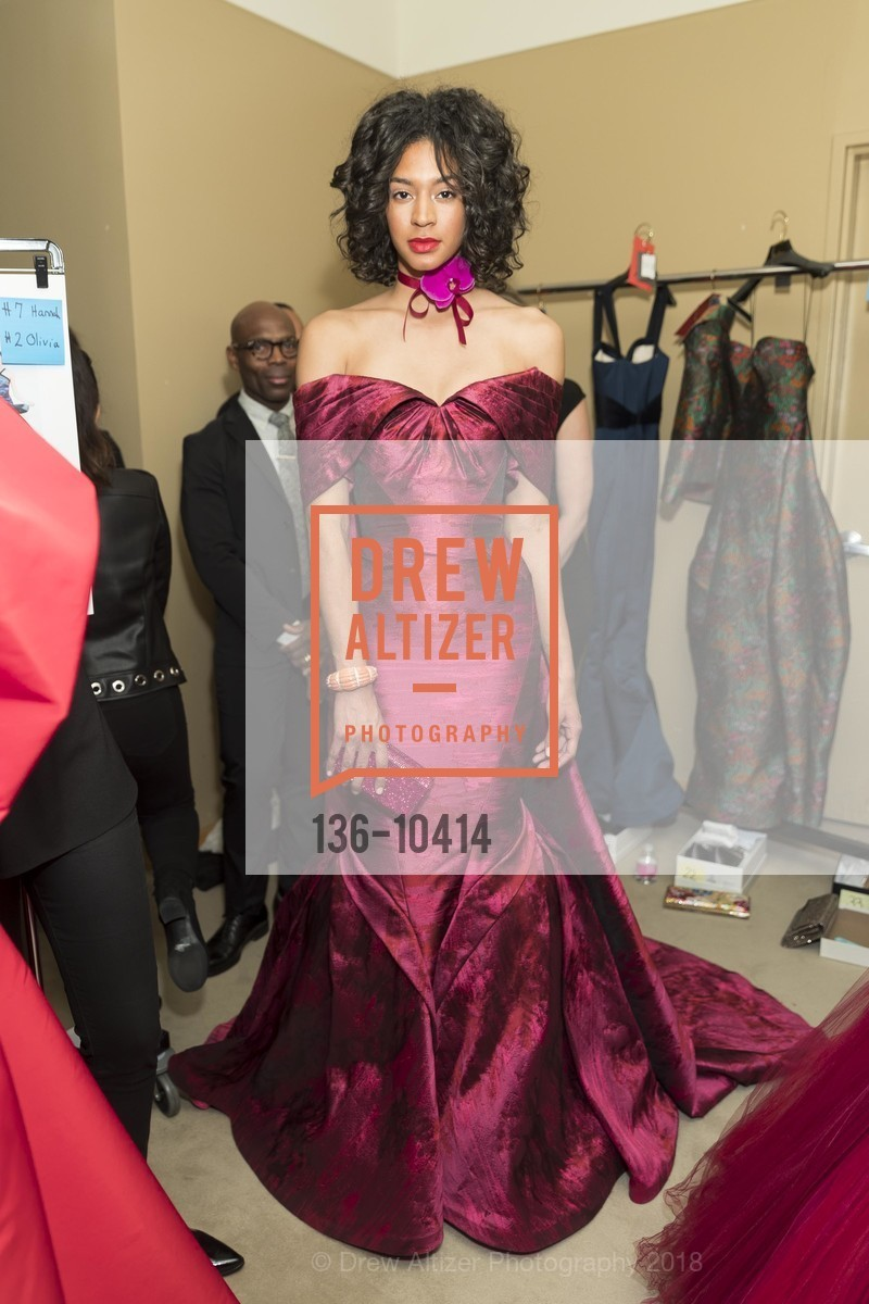 Model, Neiman Marcus Hosts Zac Posen and Ken Downing Personal Appearance and Fashion Show, Neiman Marcus, 3rd Floor. 150 Stockton Street, April 12th, 2018