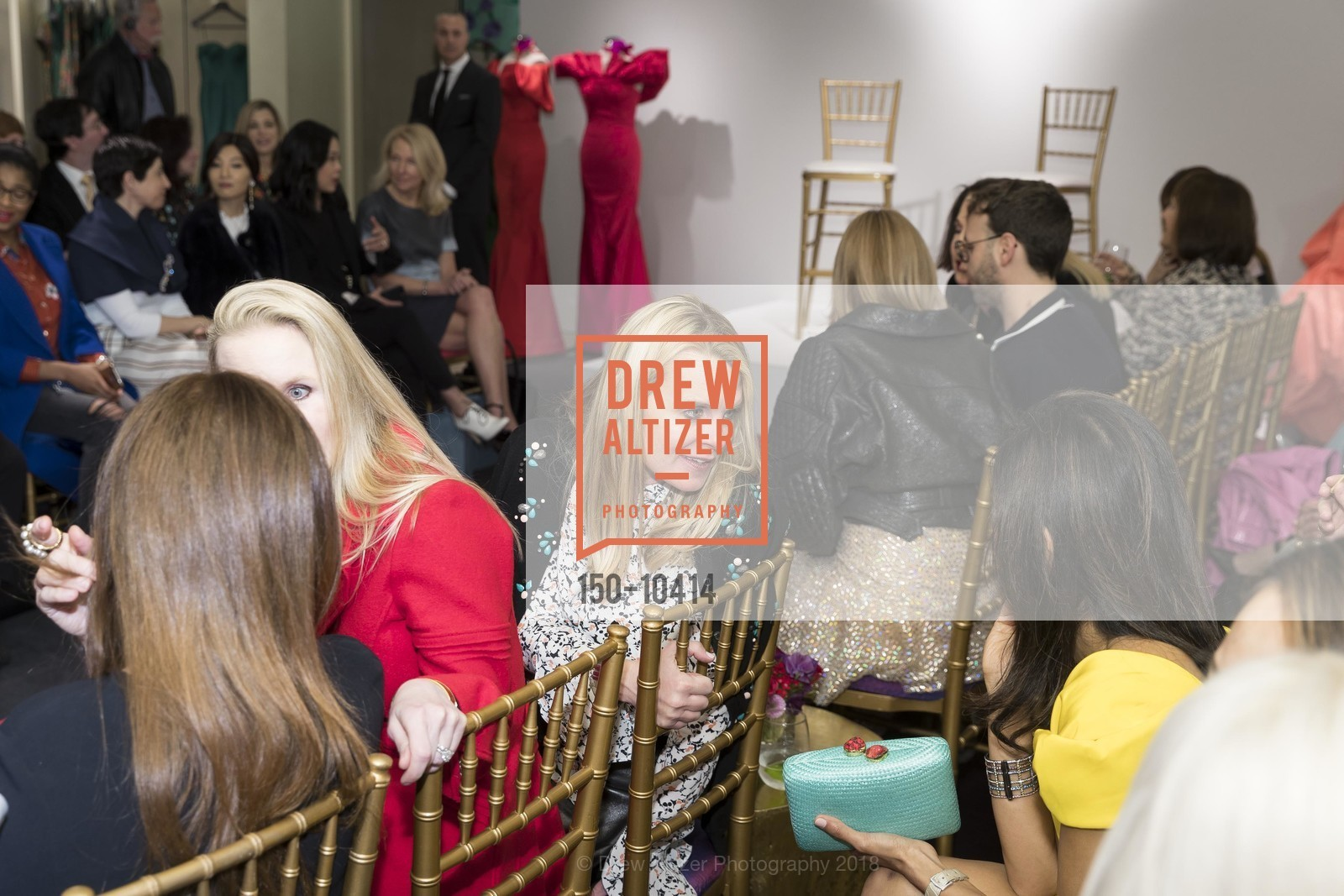 Jane Mudge, Neiman Marcus Hosts Zac Posen and Ken Downing Personal Appearance and Fashion Show, Neiman Marcus, 3rd Floor. 150 Stockton Street, April 12th, 2018