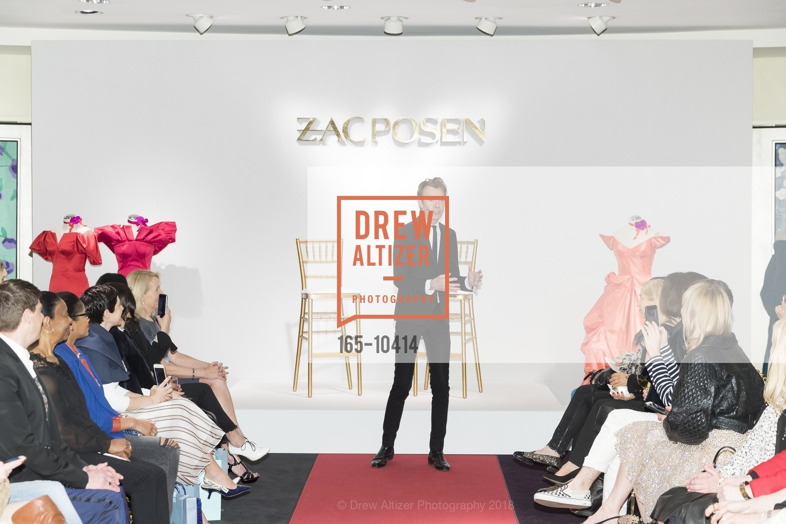 Ken Downing, Neiman Marcus Hosts Zac Posen and Ken Downing Personal Appearance and Fashion Show, Neiman Marcus, 3rd Floor. 150 Stockton Street, April 12th, 2018