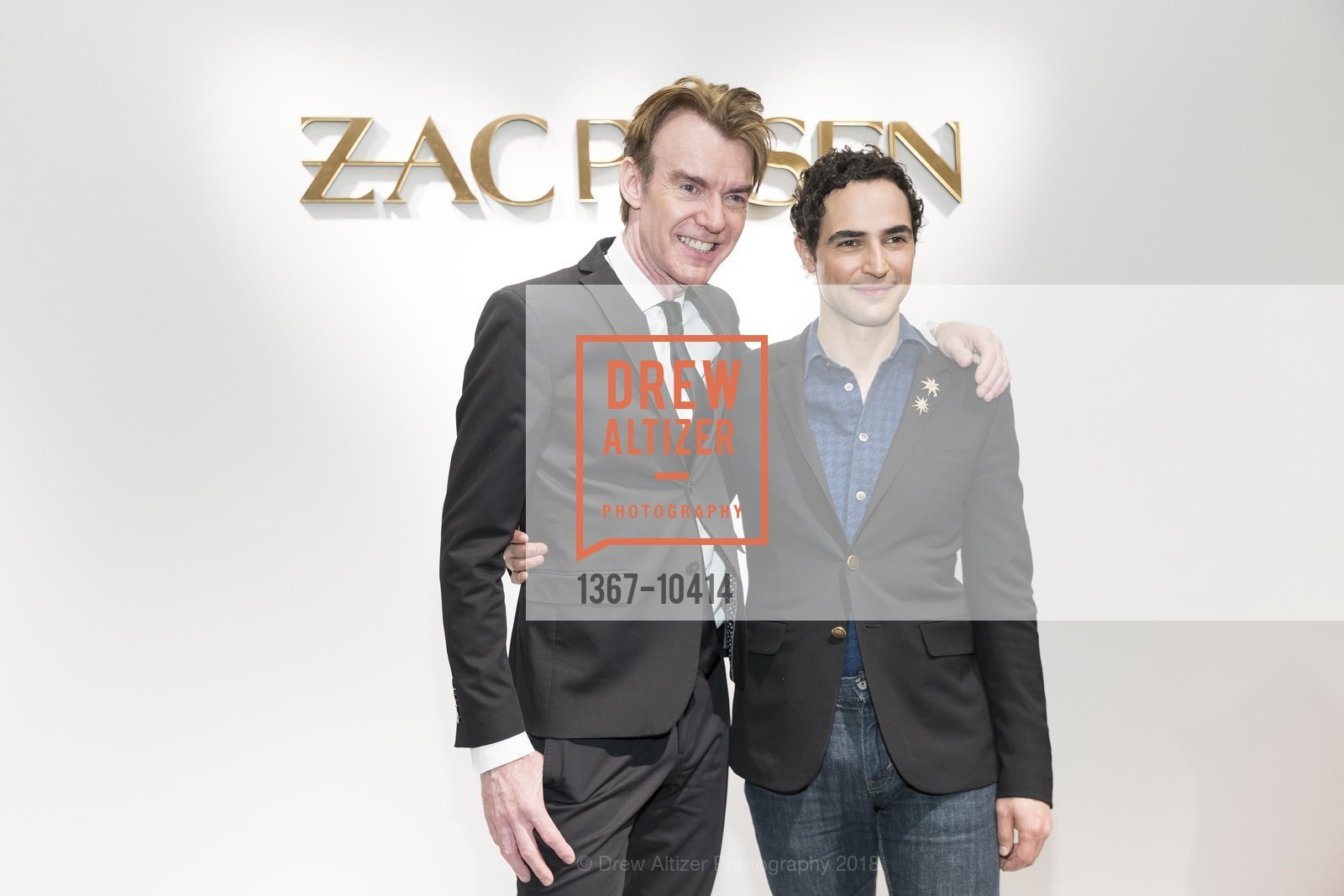 Ken Downing, Zac Posen, Neiman Marcus Hosts Zac Posen and Ken Downing Personal Appearance and Fashion Show, Neiman Marcus, 3rd Floor. 150 Stockton Street, April 12th, 2018