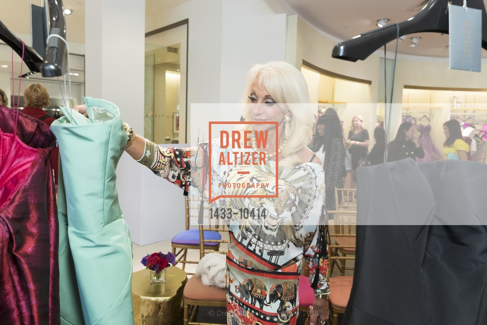 Daru Kawalkowski, Neiman Marcus Hosts Zac Posen and Ken Downing Personal Appearance and Fashion Show, Neiman Marcus, 3rd Floor. 150 Stockton Street, April 12th, 2018,Drew Altizer, Drew Altizer Photography, full-service agency, private events, San Francisco photographer, photographer california