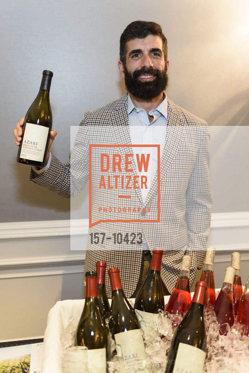 Kaveh Azari, Crohn's and Colitis Foundation California Wine Classic 2018, Ritz Carlton Hotel. 600 Stockton Street, April 14th, 2018