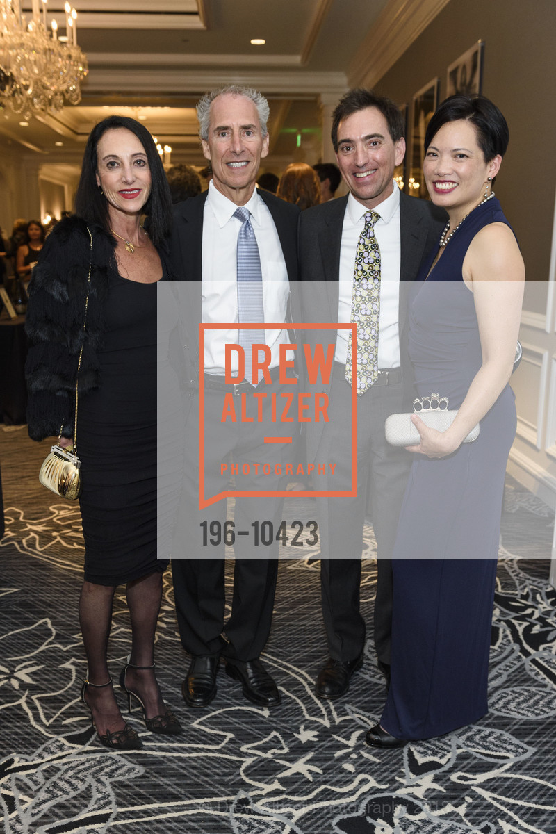 Laura Wendel, Rob Wendel, Jeff Sternberg, Anne Fung, Crohn's and Colitis Foundation California Wine Classic 2018, Ritz Carlton Hotel. 600 Stockton Street, April 14th, 2018