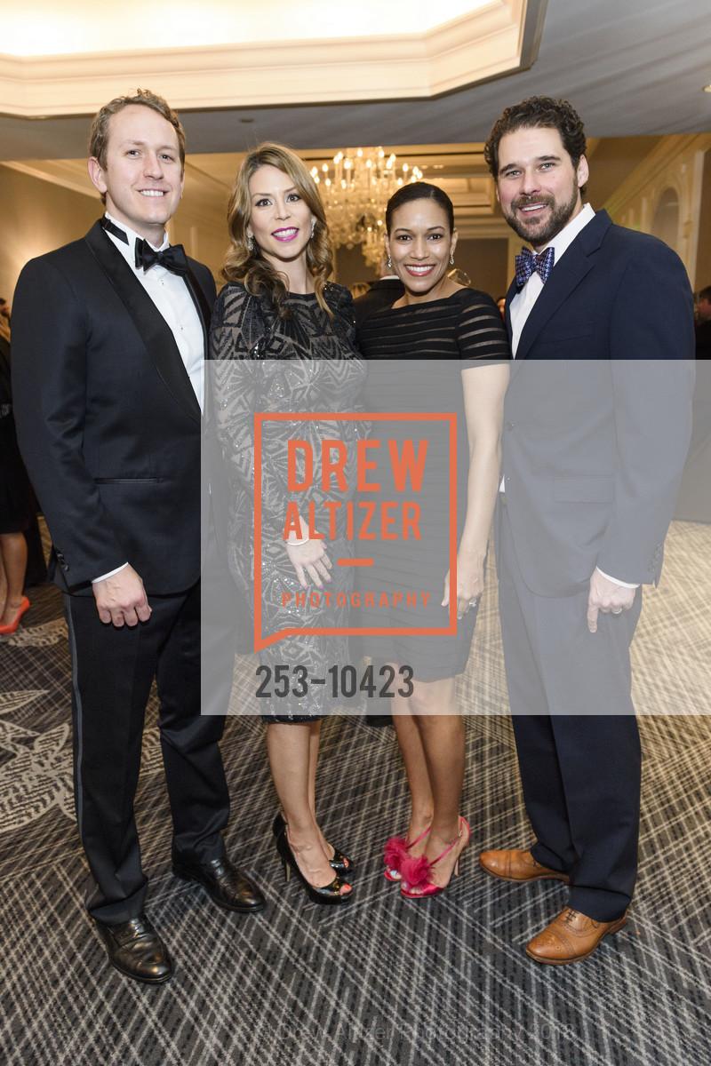 Charles Thornton, Kristy Thornton, Nandi Byer, Conrad Byer, Crohn's and Colitis Foundation California Wine Classic 2018, Ritz Carlton Hotel. 600 Stockton Street, April 14th, 2018