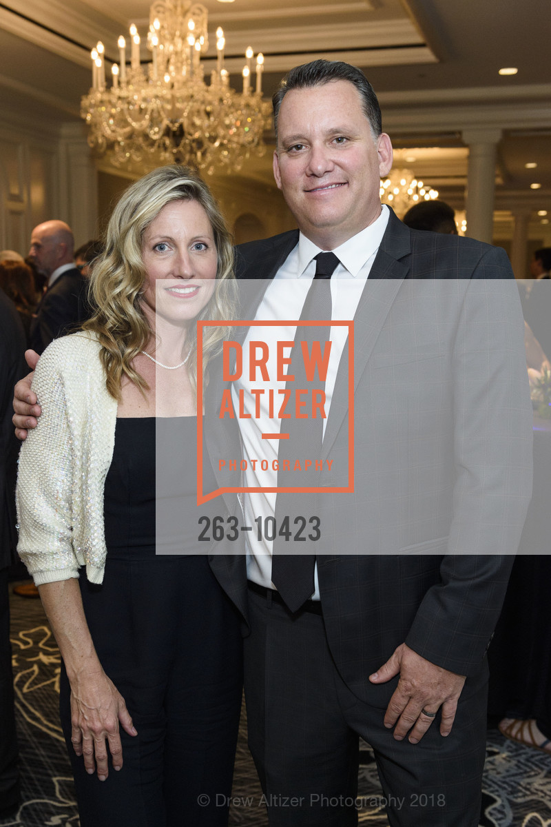 Melissa Homer, Chris Homer, Crohn's and Colitis Foundation California Wine Classic 2018, Ritz Carlton Hotel. 600 Stockton Street, April 14th, 2018