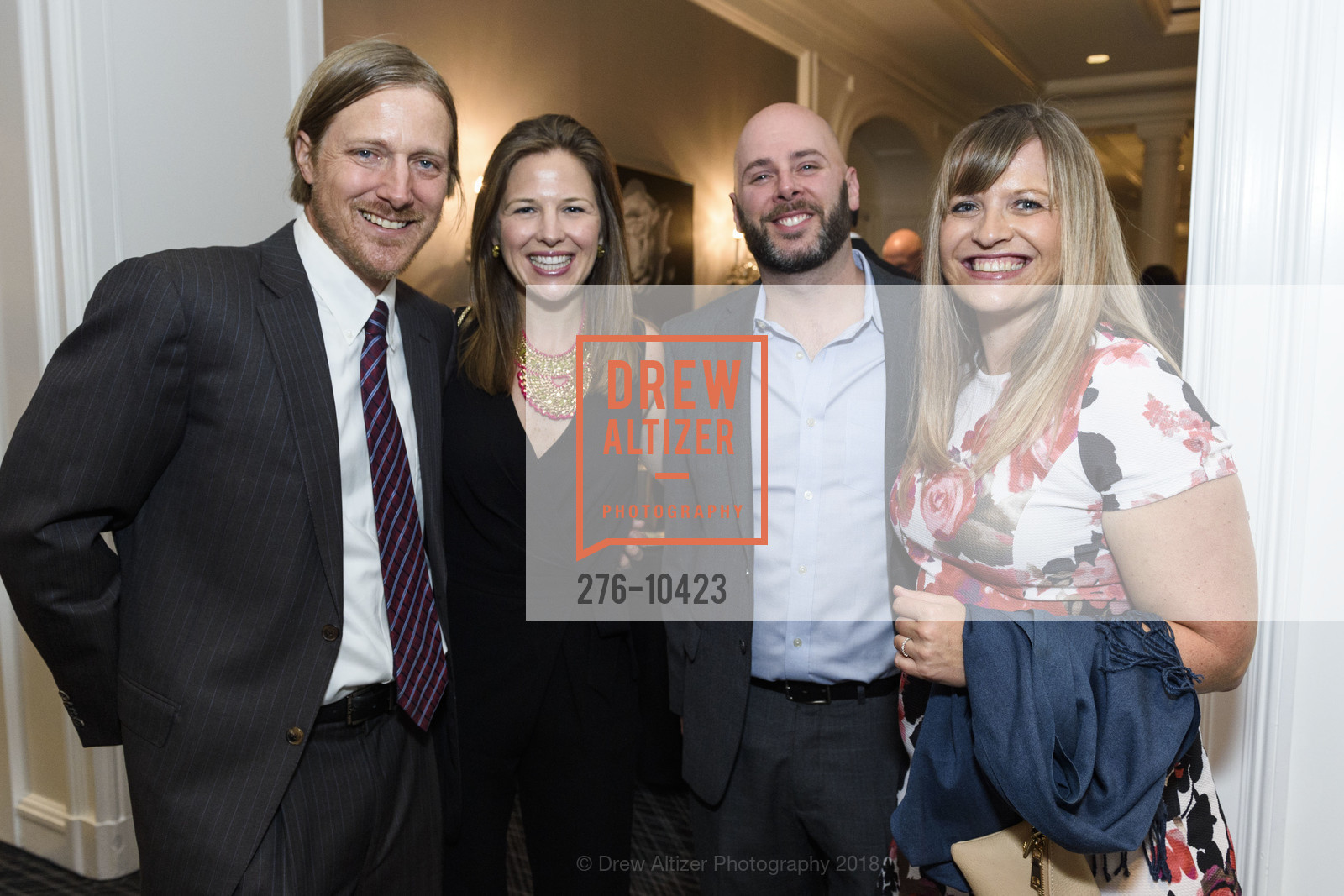 Connor Murphy, Paula Santana, David Bernstein, Jennifer Girard, Crohn's and Colitis Foundation California Wine Classic 2018, Ritz Carlton Hotel. 600 Stockton Street, April 14th, 2018,Drew Altizer, Drew Altizer Photography, full-service agency, private events, San Francisco photographer, photographer california