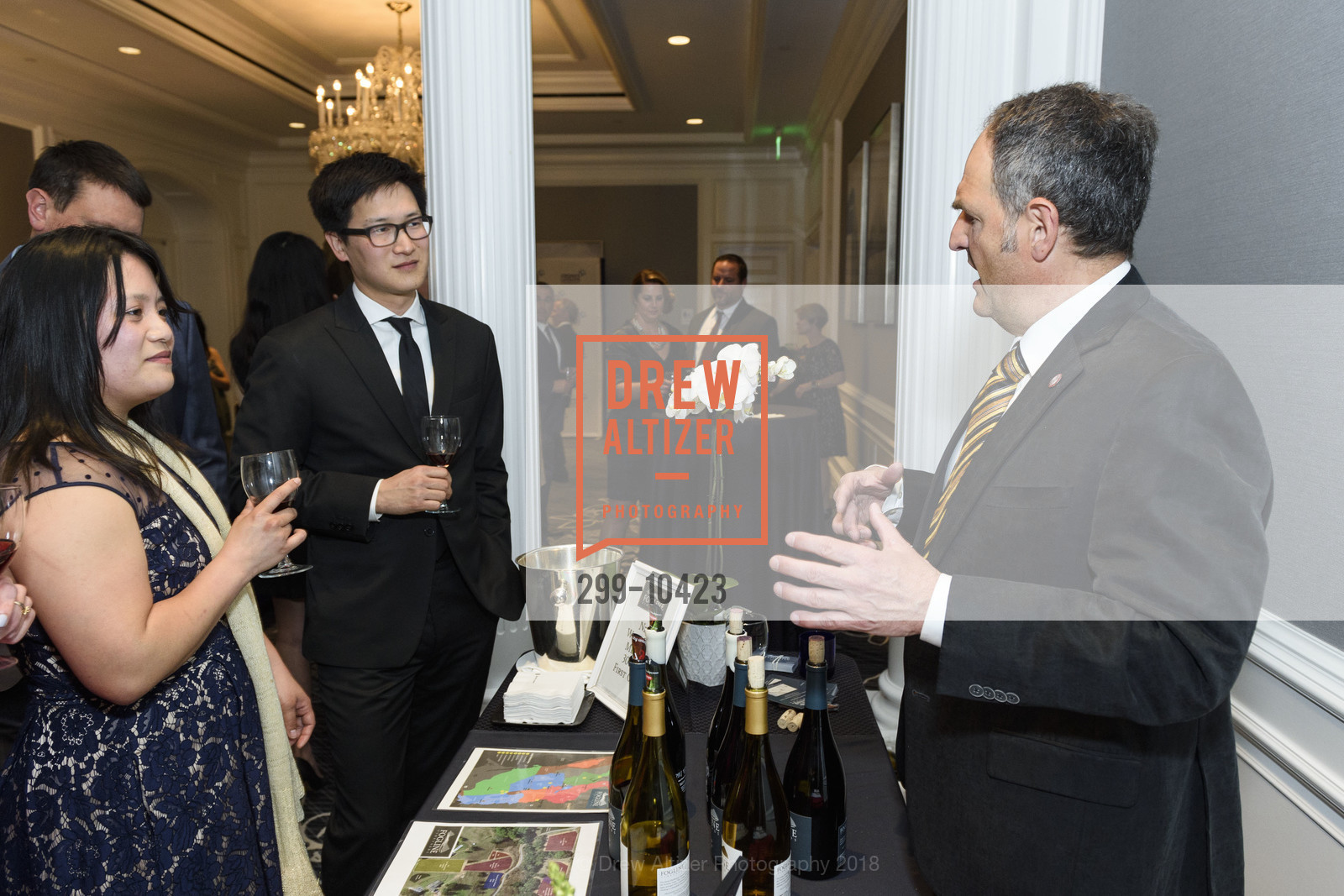 Atmosphere, Crohn's and Colitis Foundation California Wine Classic 2018, Ritz Carlton Hotel. 600 Stockton Street, April 14th, 2018
