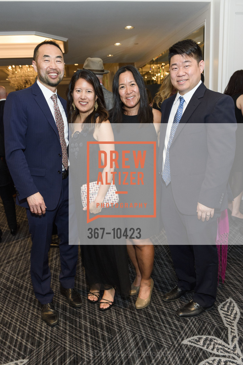 Dan Choi, Kathy Cabansag, Angela Liu, Jesse Liu, Crohn's and Colitis Foundation California Wine Classic 2018, Ritz Carlton Hotel. 600 Stockton Street, April 14th, 2018