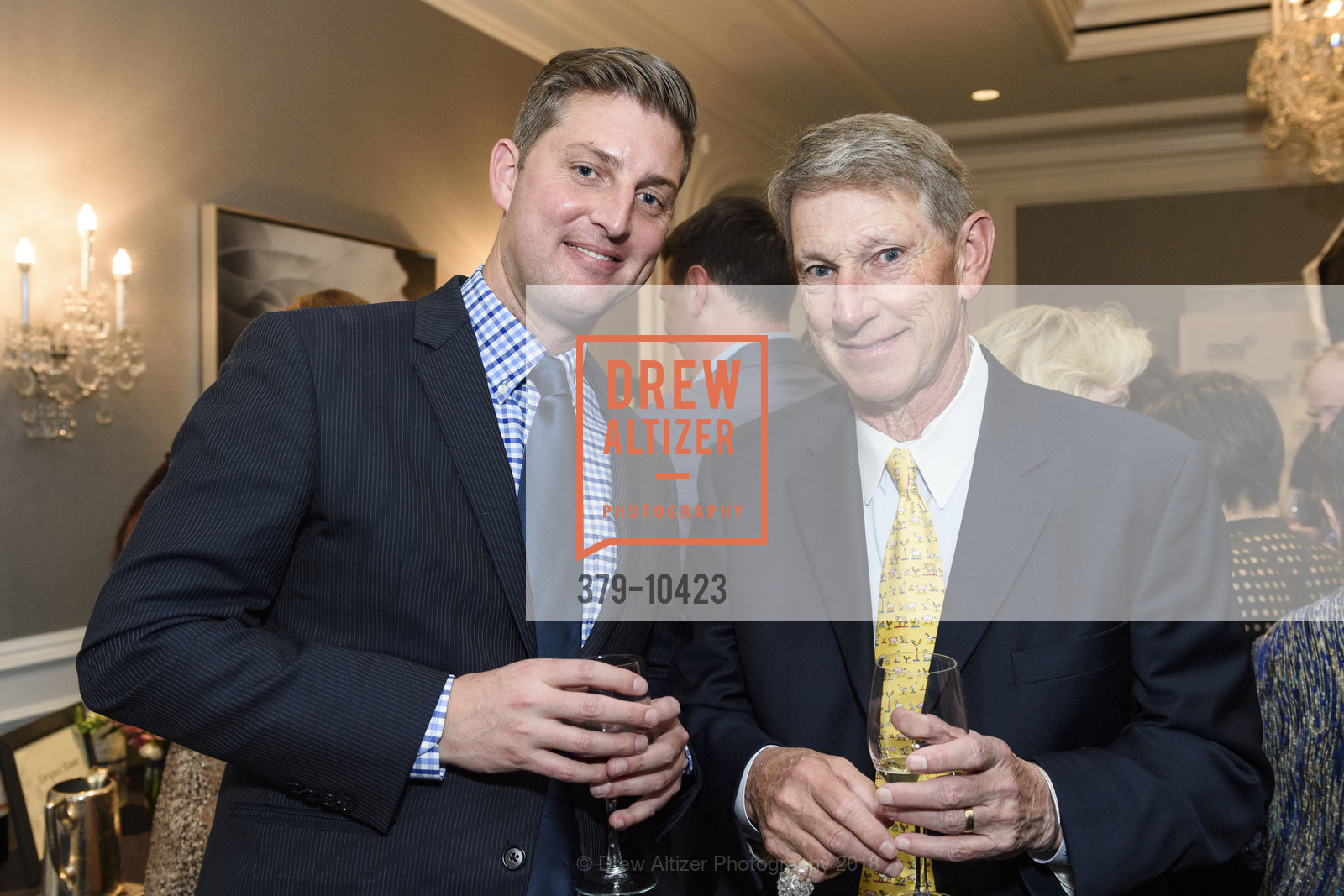 Patrick Meeker, Stephen Meeker, Crohn's and Colitis Foundation California Wine Classic 2018, Ritz Carlton Hotel. 600 Stockton Street, April 14th, 2018