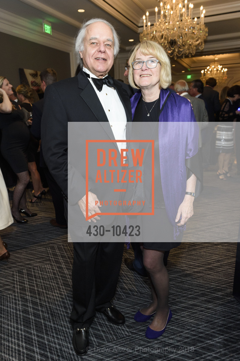Chuck Byer, Cheryl Quist, Crohn's and Colitis Foundation California Wine Classic 2018, Ritz Carlton Hotel. 600 Stockton Street, April 14th, 2018