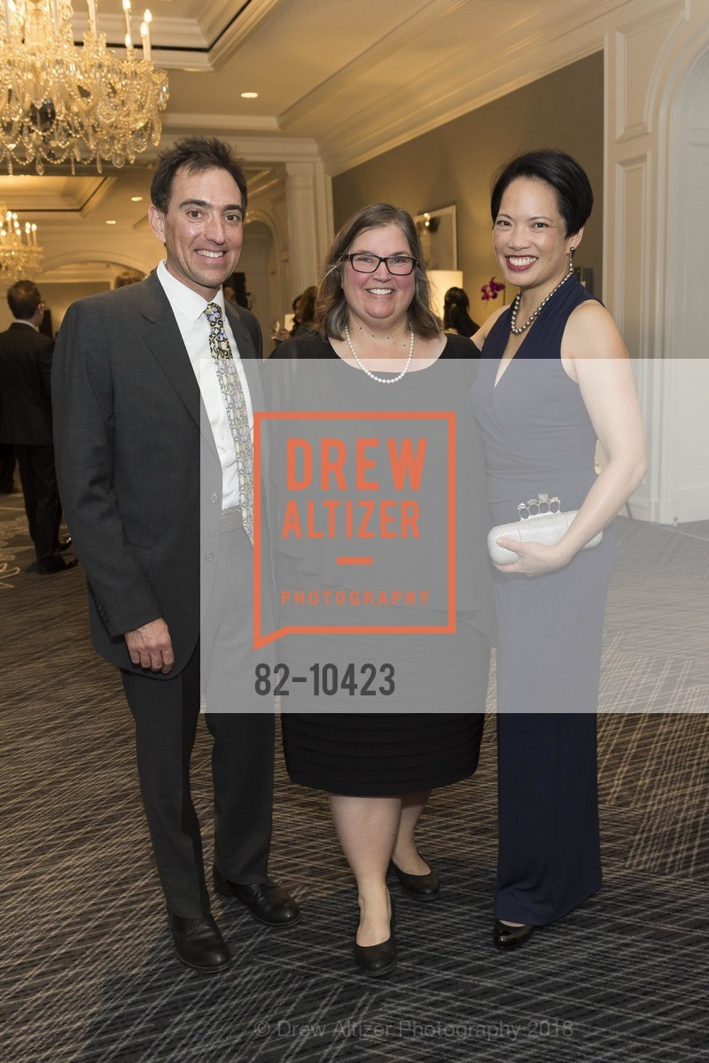 Jeff Sternberg, Harriet Patterson, Anne Fung, Crohn's and Colitis Foundation California Wine Classic 2018, Ritz Carlton Hotel. 600 Stockton Street, April 14th, 2018
