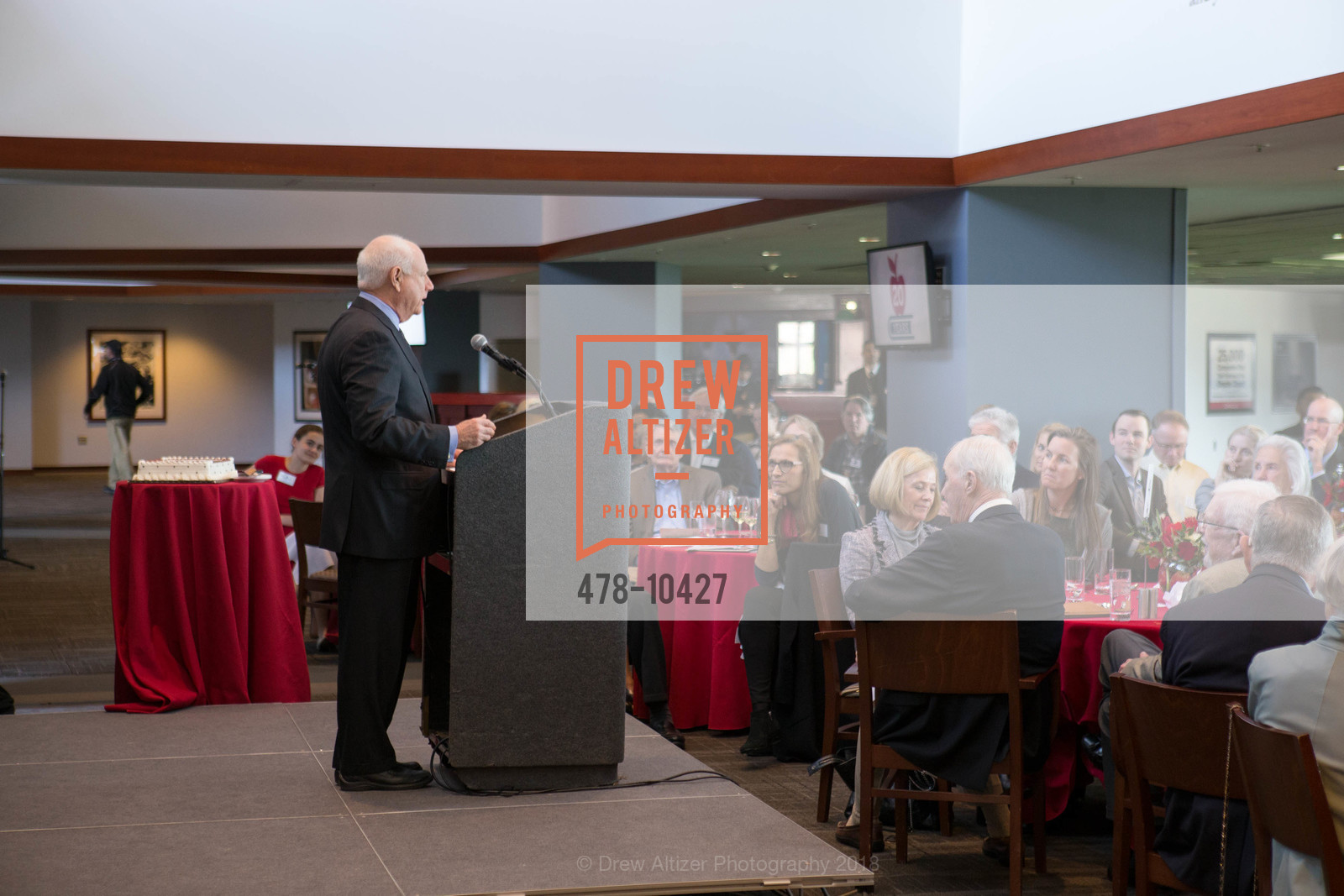 Jim Herbert, The BASIC Fund 20th Anniversary Celebration, AT&T Park, Club Level, April 12th, 2018