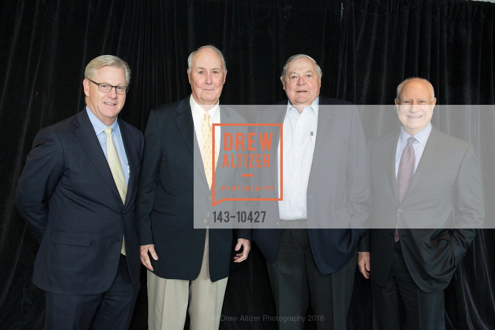 Bill Ring, Jim McCarthy, Ken Derr, Jim Herbert, The BASIC Fund 20th Anniversary Celebration, AT&T Park, Club Level, April 12th, 2018,Drew Altizer, Drew Altizer Photography, full-service agency, private events, San Francisco photographer, photographer california