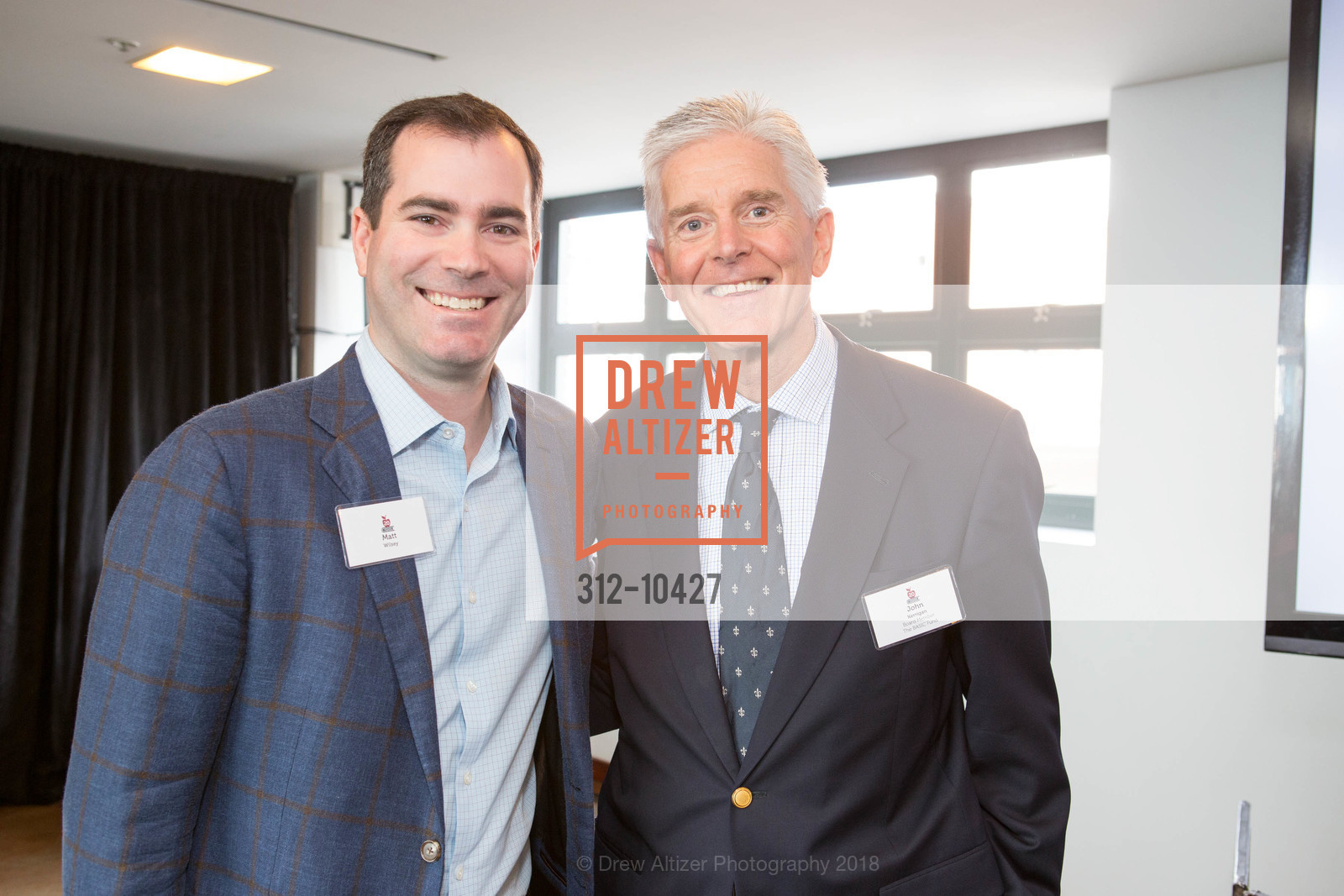 John Kerrigan, Matt Wilsey, The BASIC Fund 20th Anniversary Celebration, AT&T Park, Club Level, April 12th, 2018,Drew Altizer, Drew Altizer Photography, full-service agency, private events, San Francisco photographer, photographer california