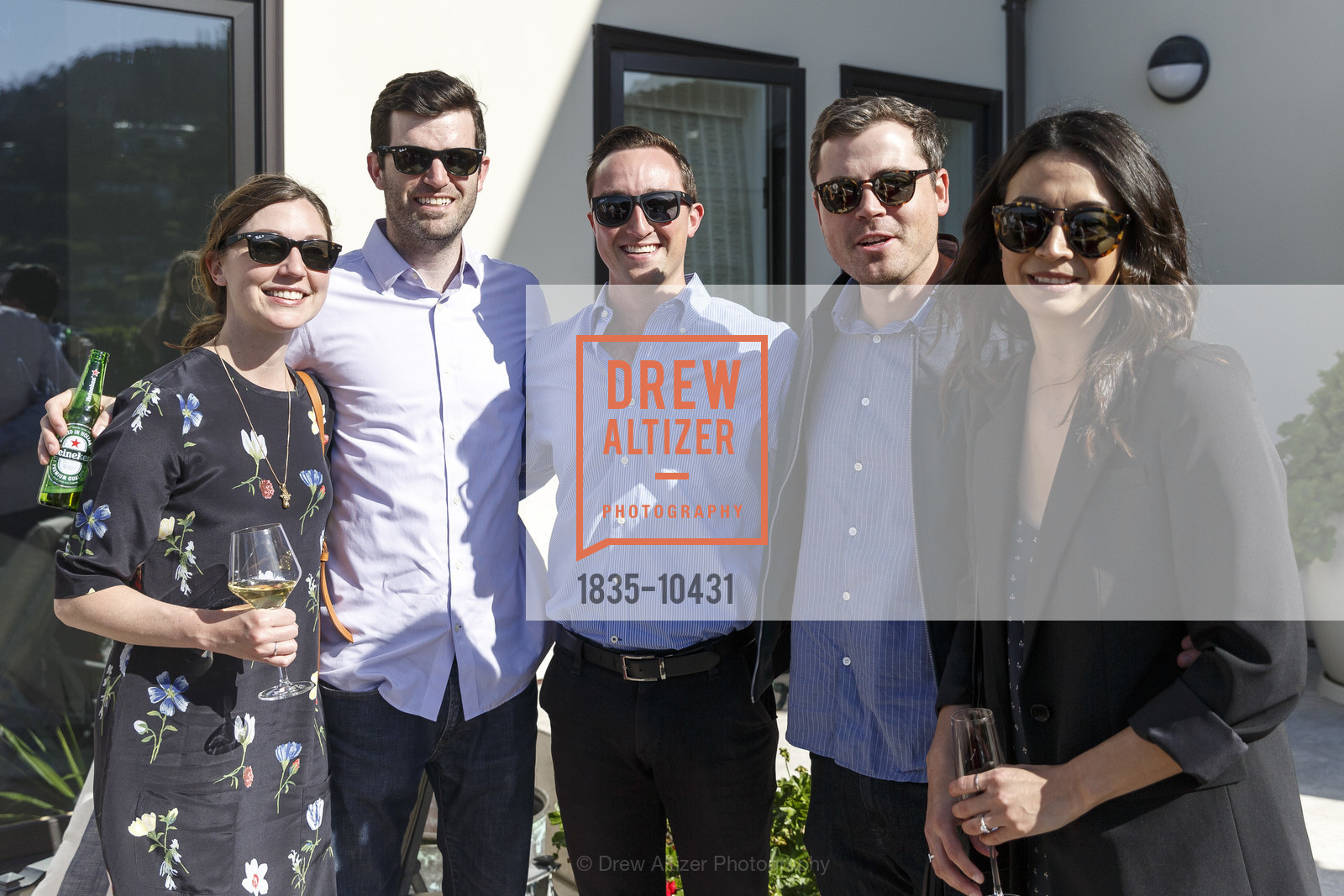 Sarah Wellman, Read Wellman, Payton Harrod, Brian Martineau, Gabby Hernandez, Liz and Dan's Engagement Party, Private Residence, April 14th, 2018