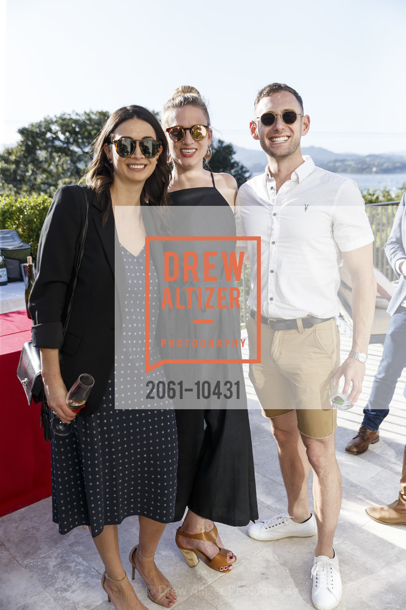 Gabby Hernandez, Liz Irby, Bradley Portnoy, Liz and Dan's Engagement Party, Private Residence, April 14th, 2018
