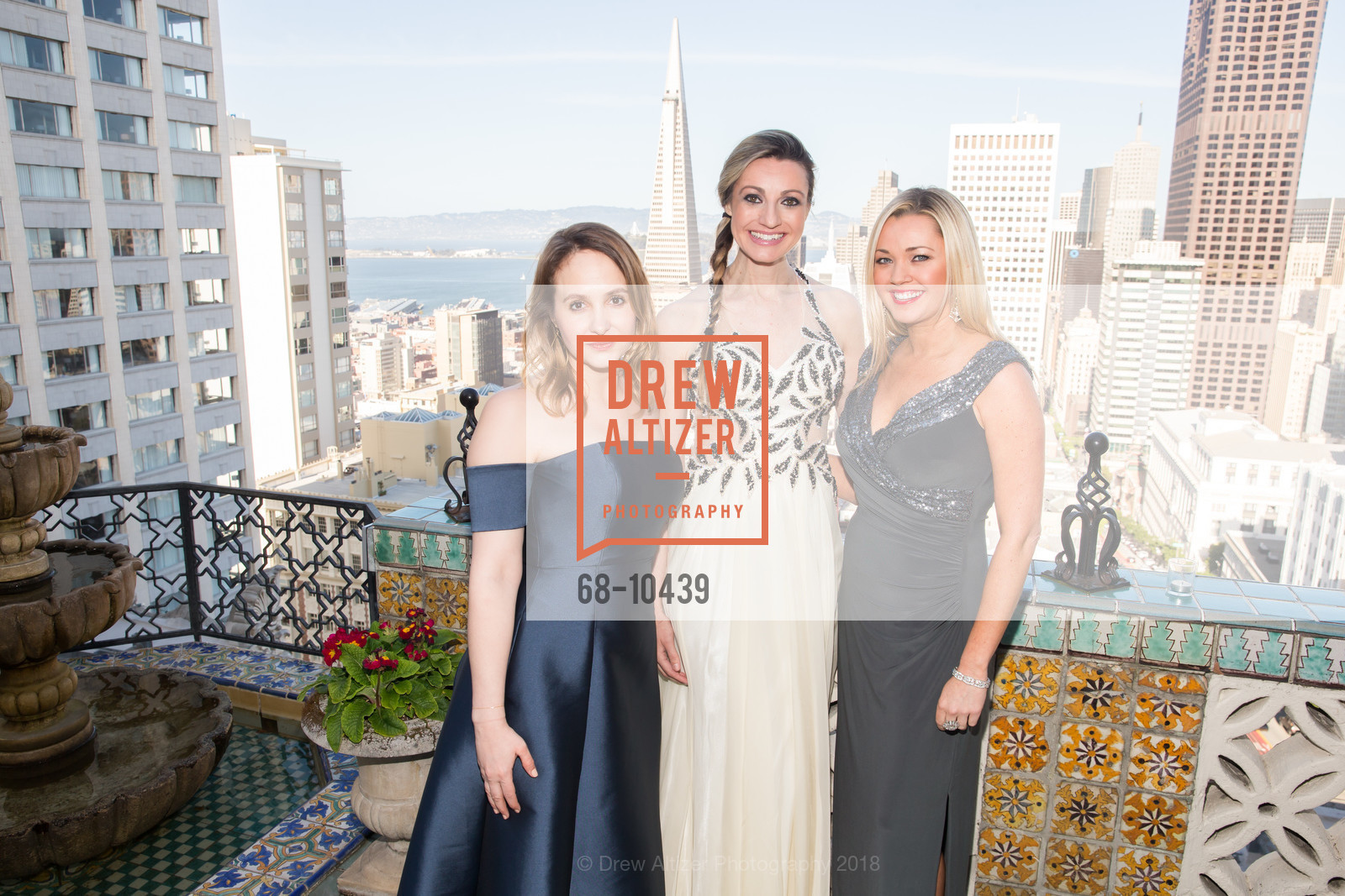Amber Mullins, Marie Carr Hadley, Blair Walsh, UCSF Partners in Care Soiree 2018, The Fairmont Nob Hill, April 14th, 2018