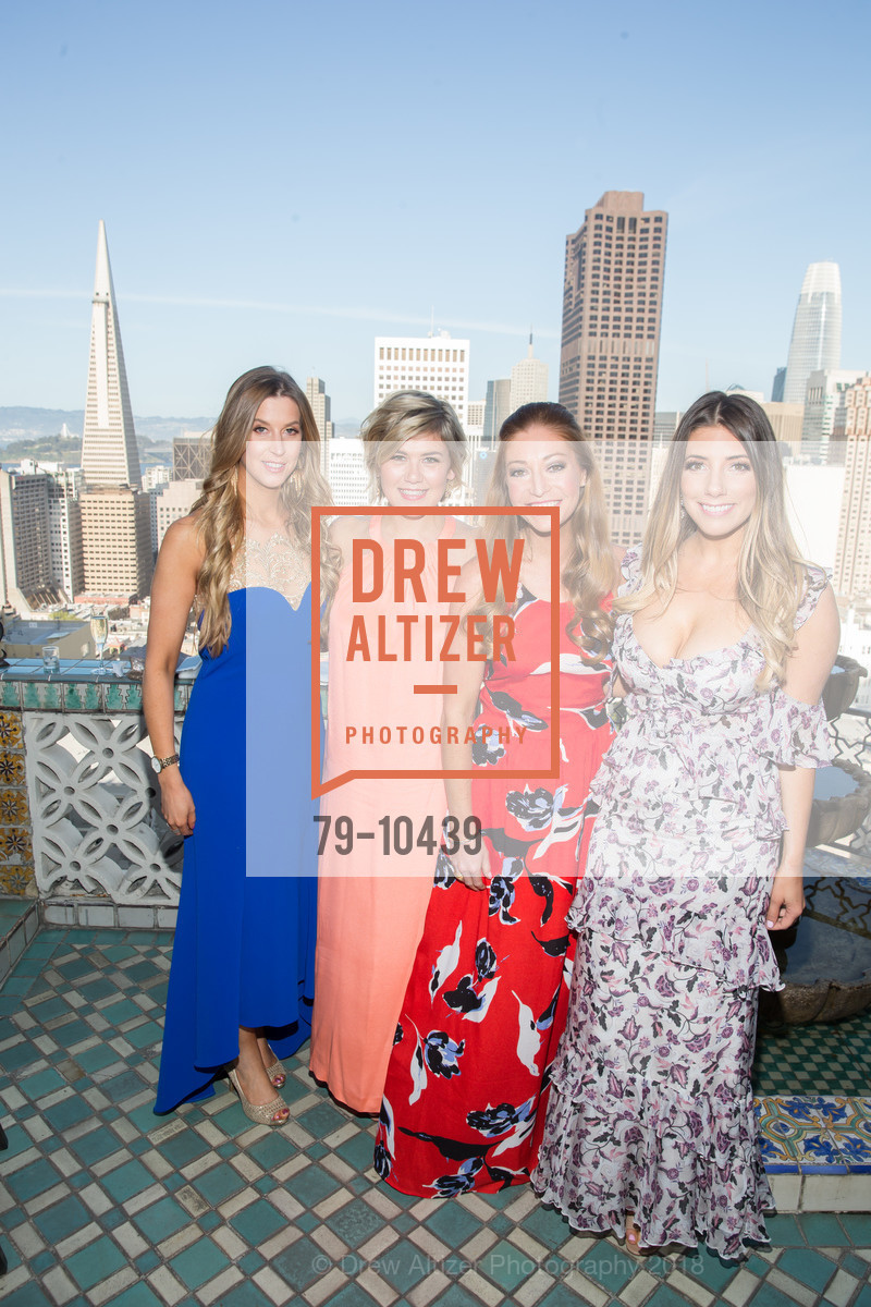 Lauren Duffy, Elizabeth Allin, Whitney Hudak, Brianna Haag, UCSF Partners in Care Soiree 2018, The Fairmont Nob Hill, April 14th, 2018,Drew Altizer, Drew Altizer Photography, full-service agency, private events, San Francisco photographer, photographer california